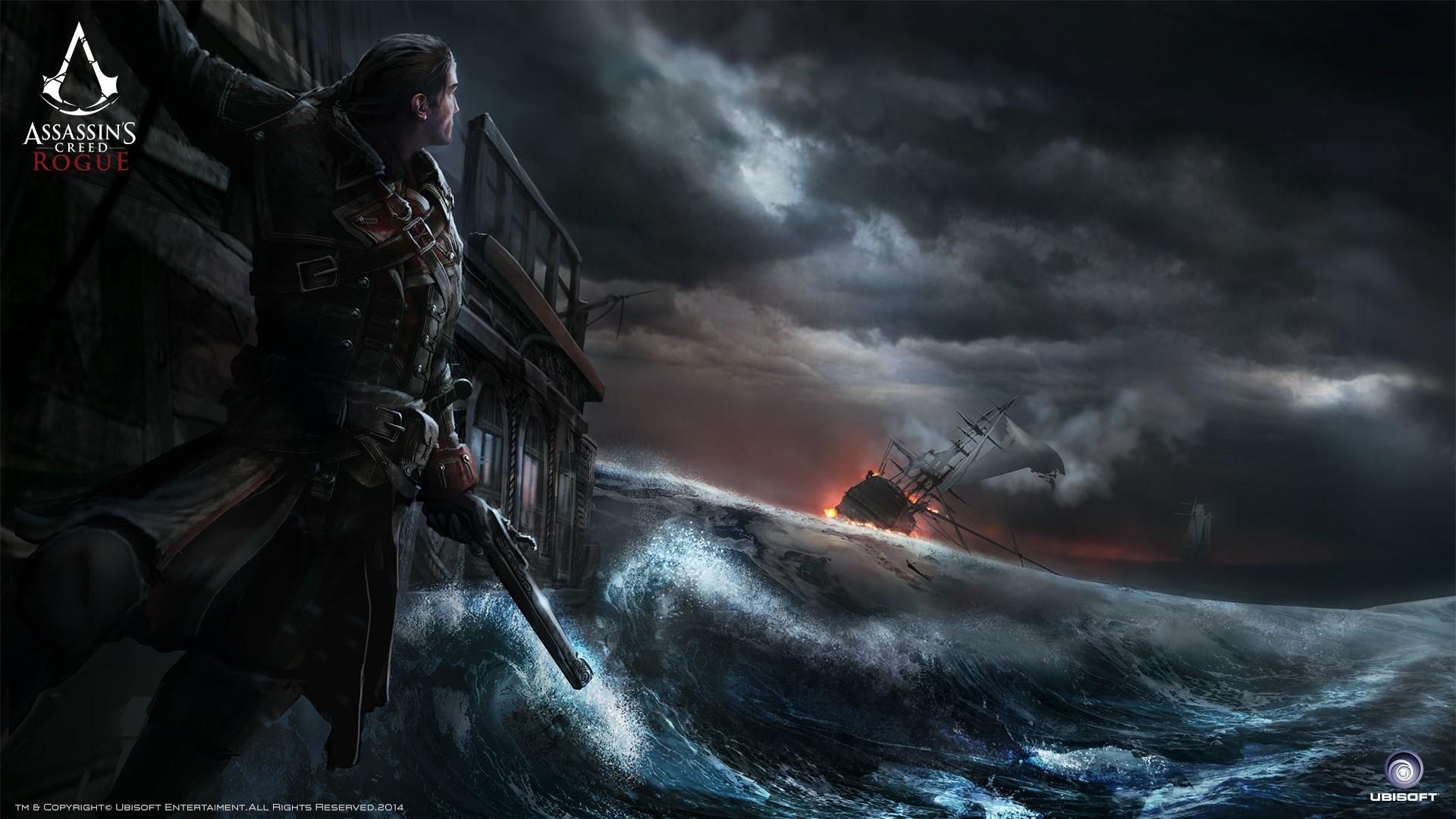 1920x1080 widescreen wallpaper assassins creed rogue by Lawford Longman (2017-03-08)