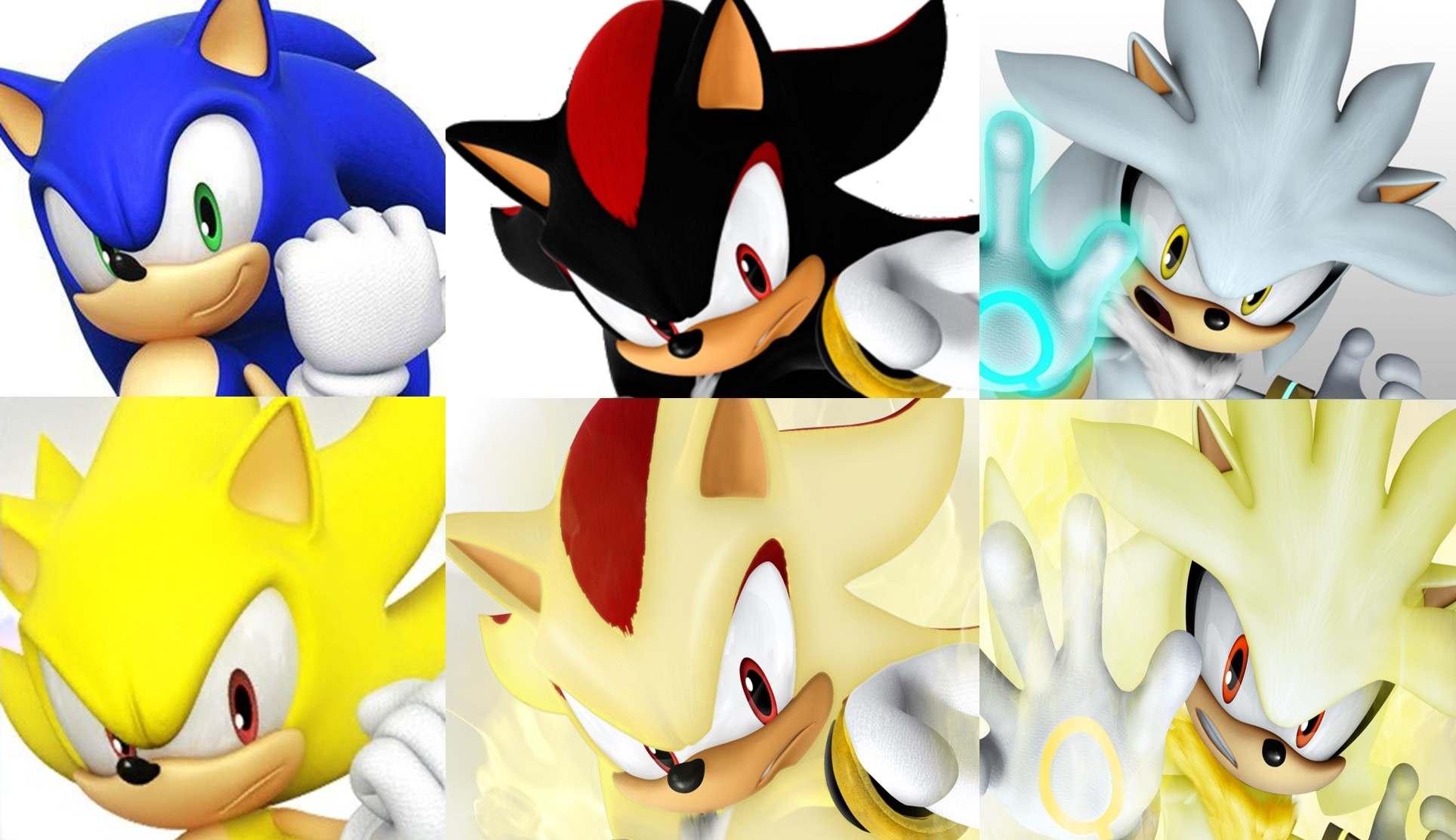 1928x1112 Sonic, Shadow, and Silver images Sonic Shadow and Silver Super forms Same  Pose SEGA Sonic Team HD wallpaper and background photos