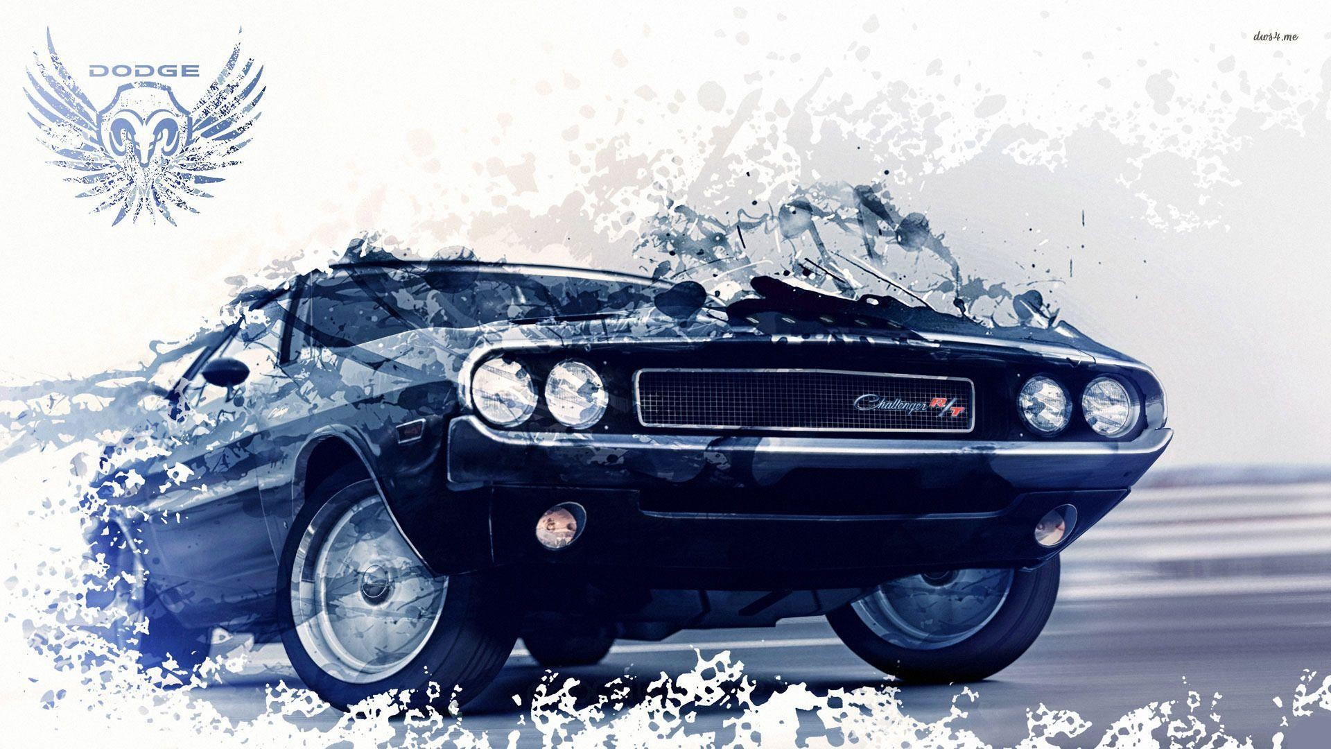 on 71 challenger r t