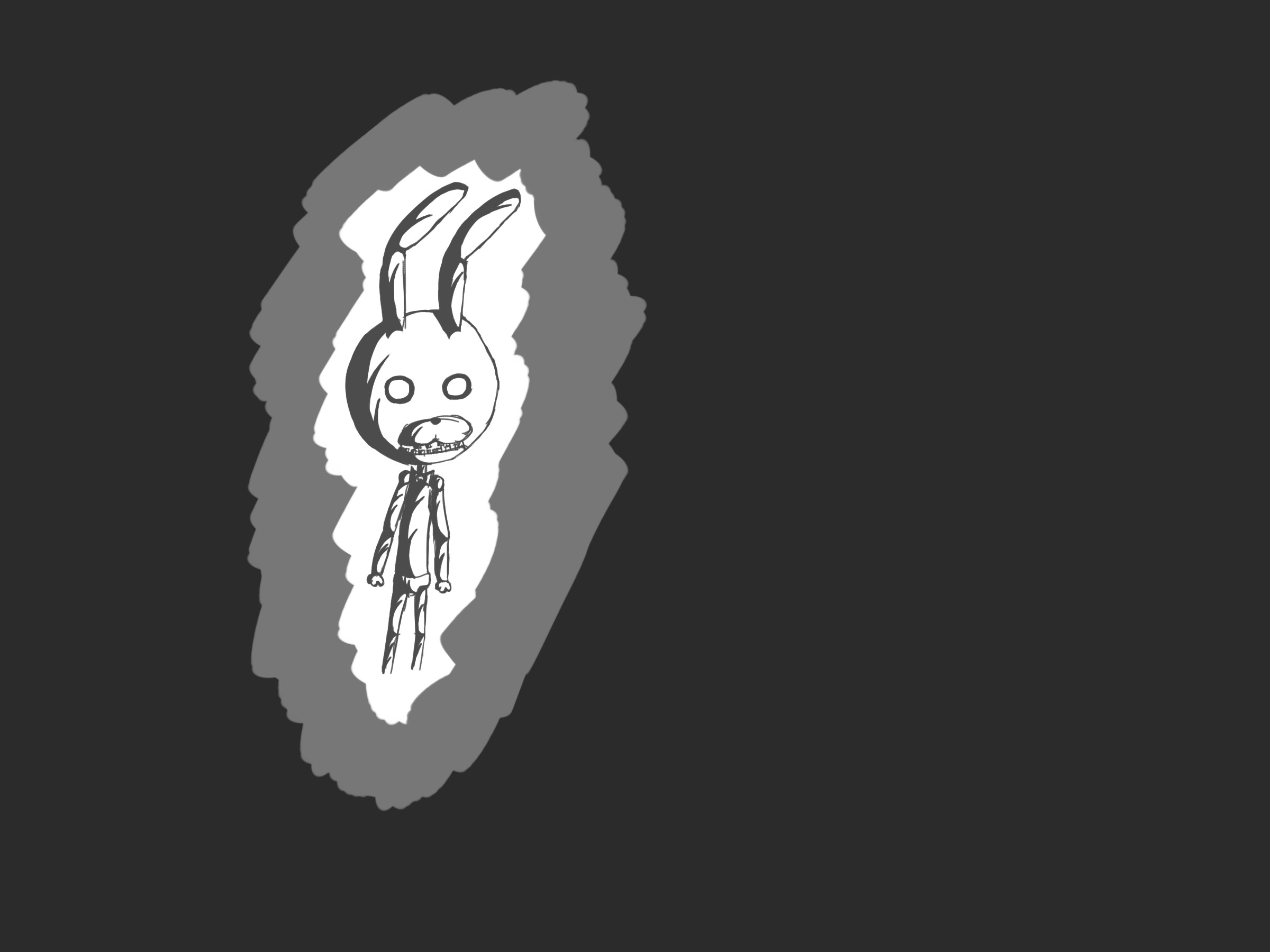 2400x1800 bonnie fnaf wallpaper bonnie five nights fnaf at eh got bored drew .