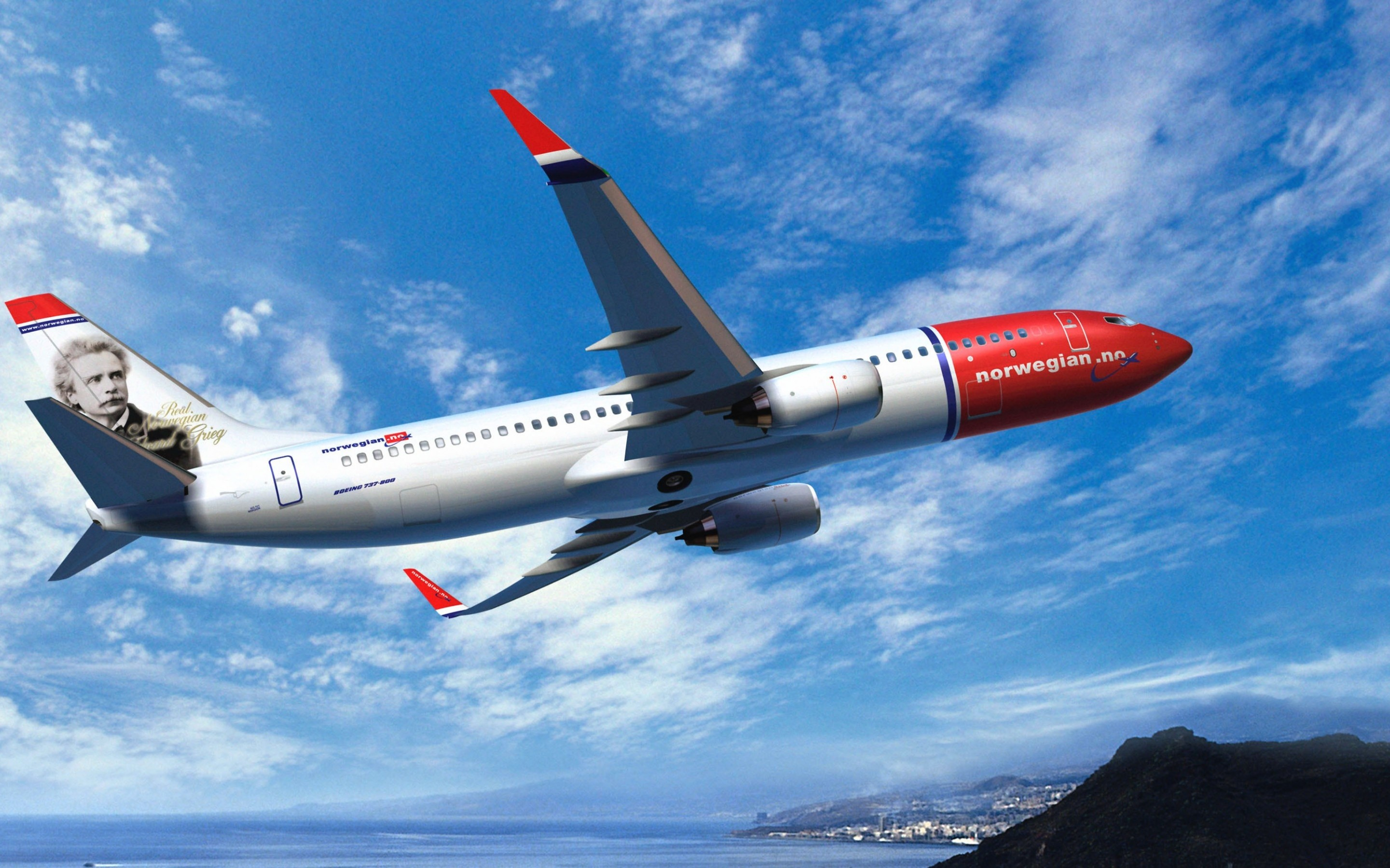 2880x1800 PC  Boeing 737 Wallpaper, Ozon4LIFE