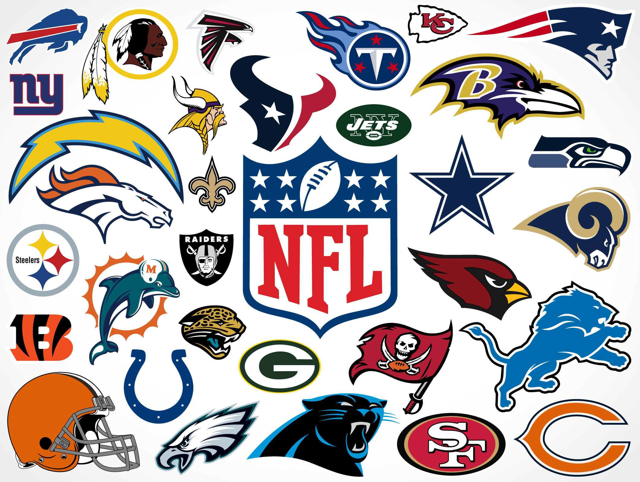 2122x1600 Cool NFL Wallpapers Teams Logo