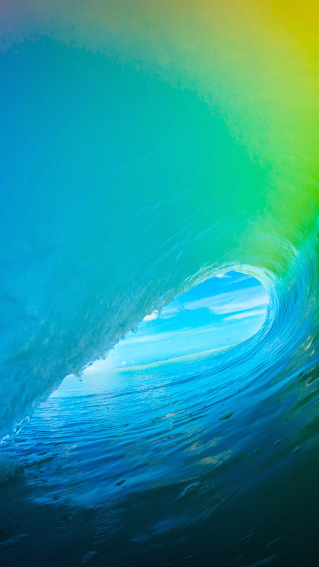 1080x1920 iOS 9 Colorful Surf Wave iPhone 6+ HD Wallpaper