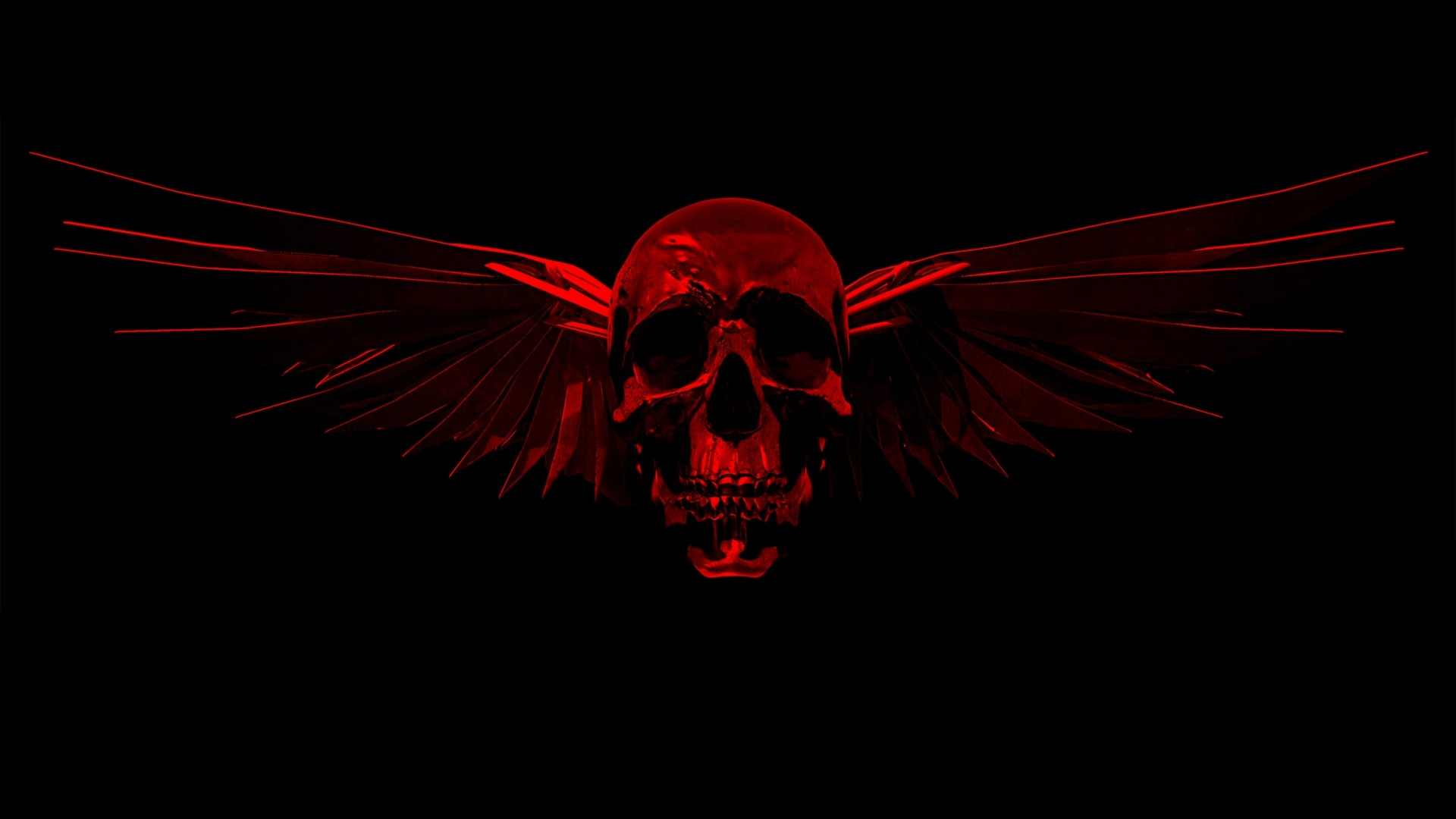 Flaming Skull Wallpapers (50+ Images