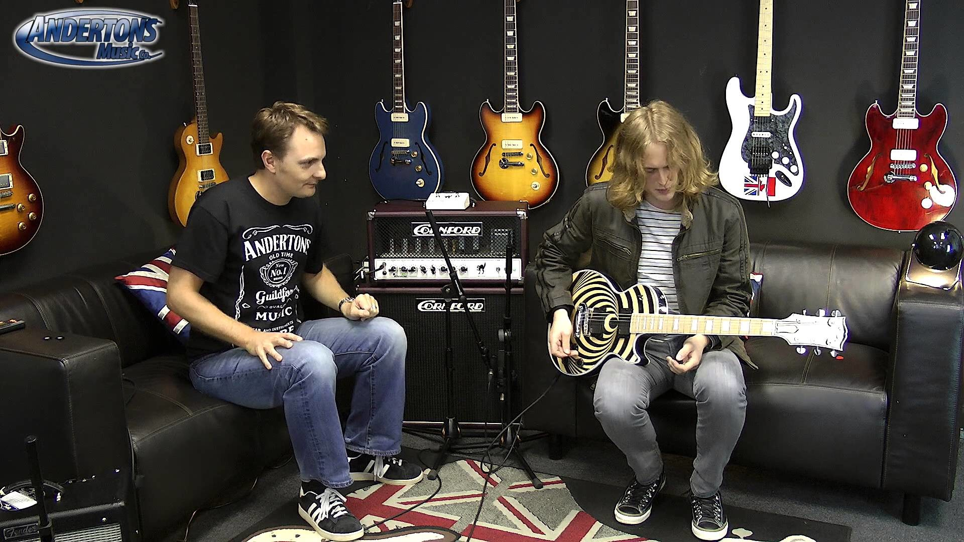 1920x1080 Gibson Les Paul Zakk Wylde demo Featuring Sam Coulson