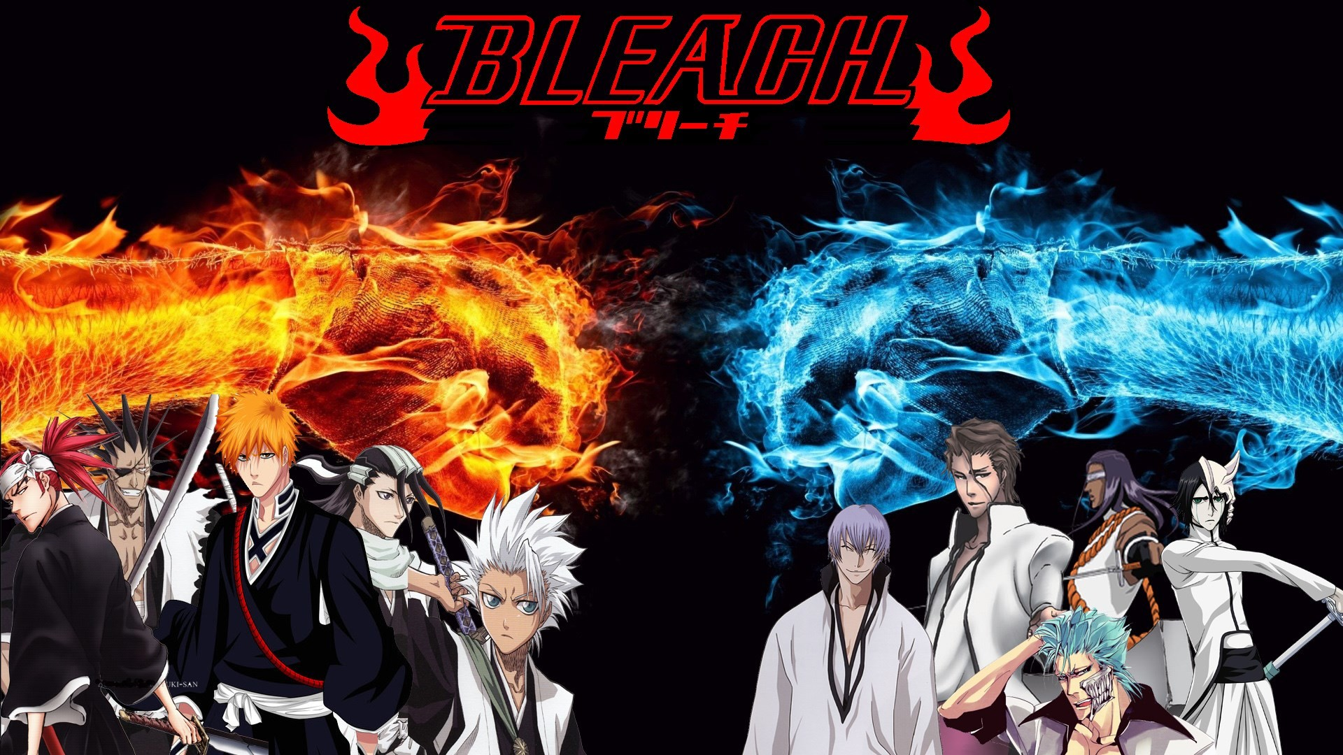 1920x1080 bleach desktop wallpaper