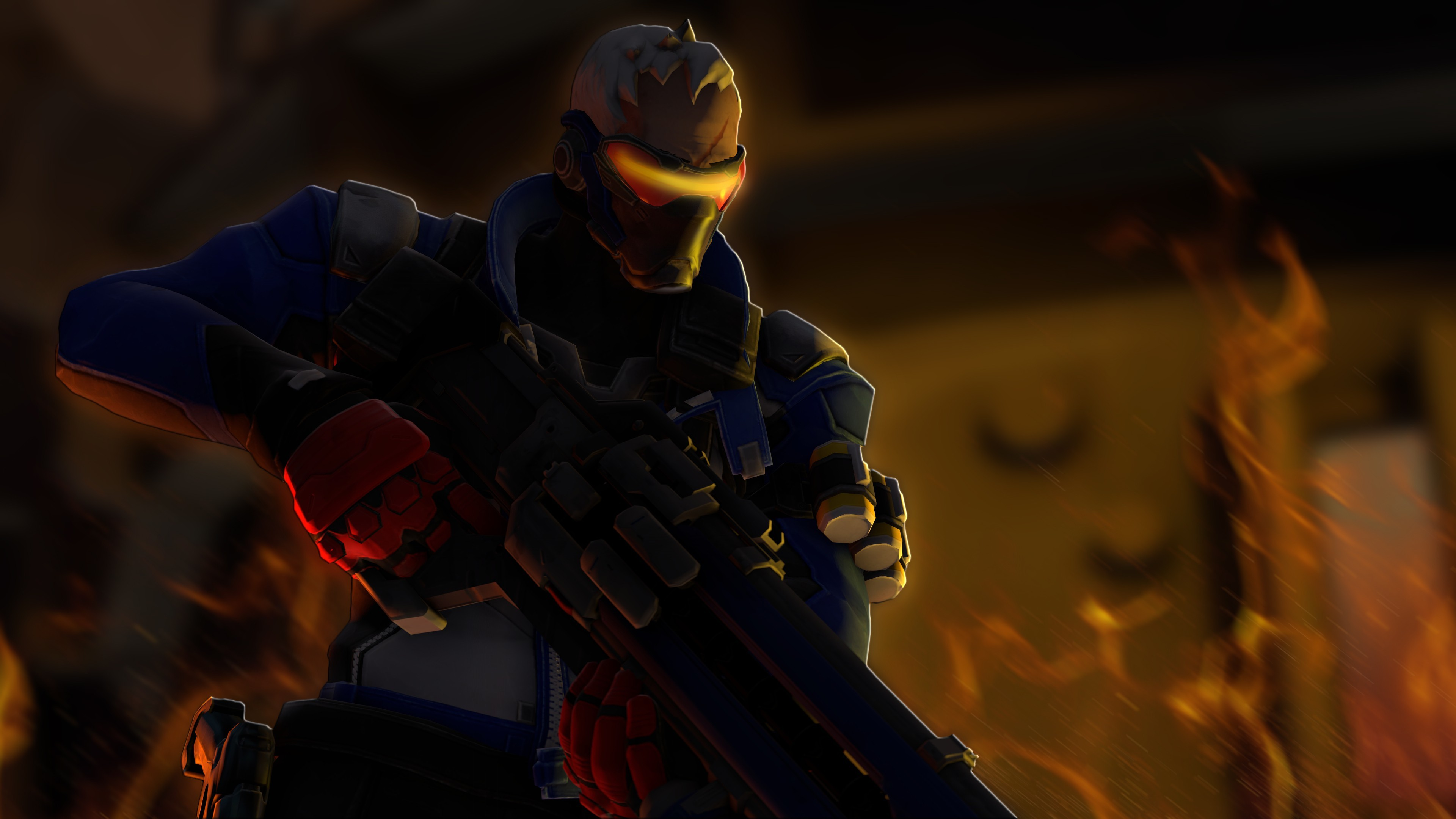 3840x2160 Soldier: 76, Blizzard Entertainment, Overwatch Wallpapers HD / Desktop and  Mobile Backgrounds