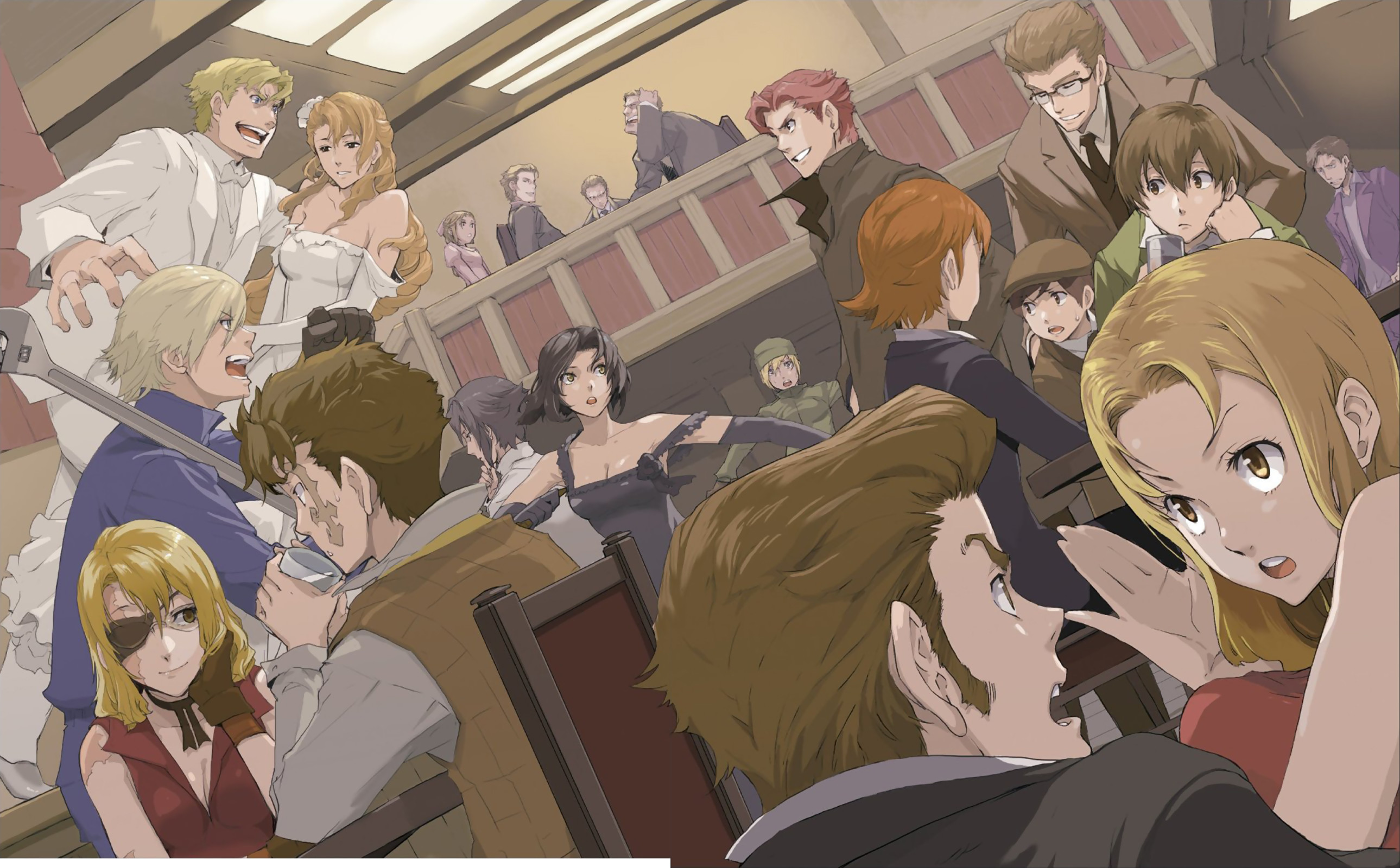 2579x1600 View Fullsize Baccano! Image