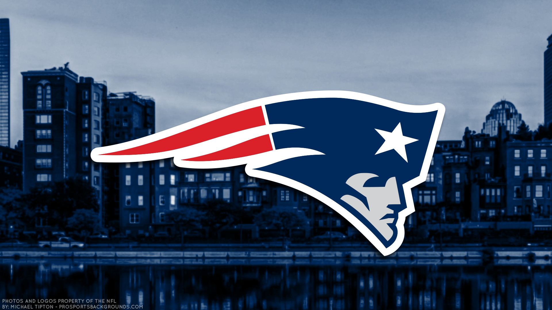 1920x1080 ... New England Patriots 2018 city logo wallpaper free for desktop pc  iphone galaxy and andriod printable