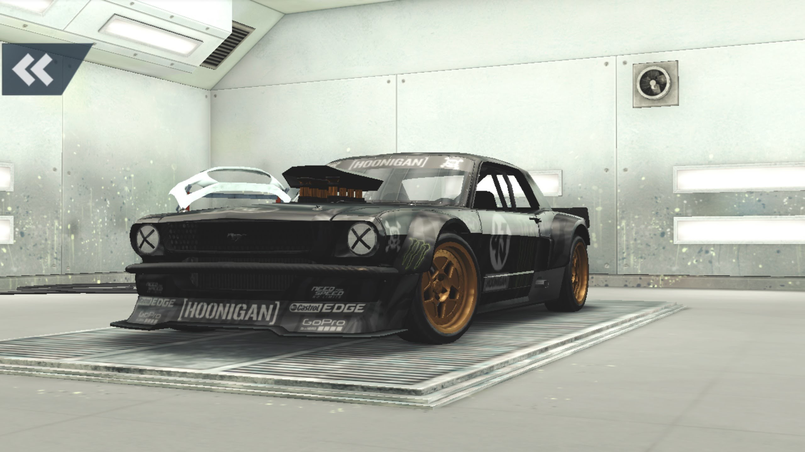 2560x1440 NEED FOR SPEED NO LIMITS HOONIGAN SERIES CHAPTER 3 FORD MUSTANG HOONICORN