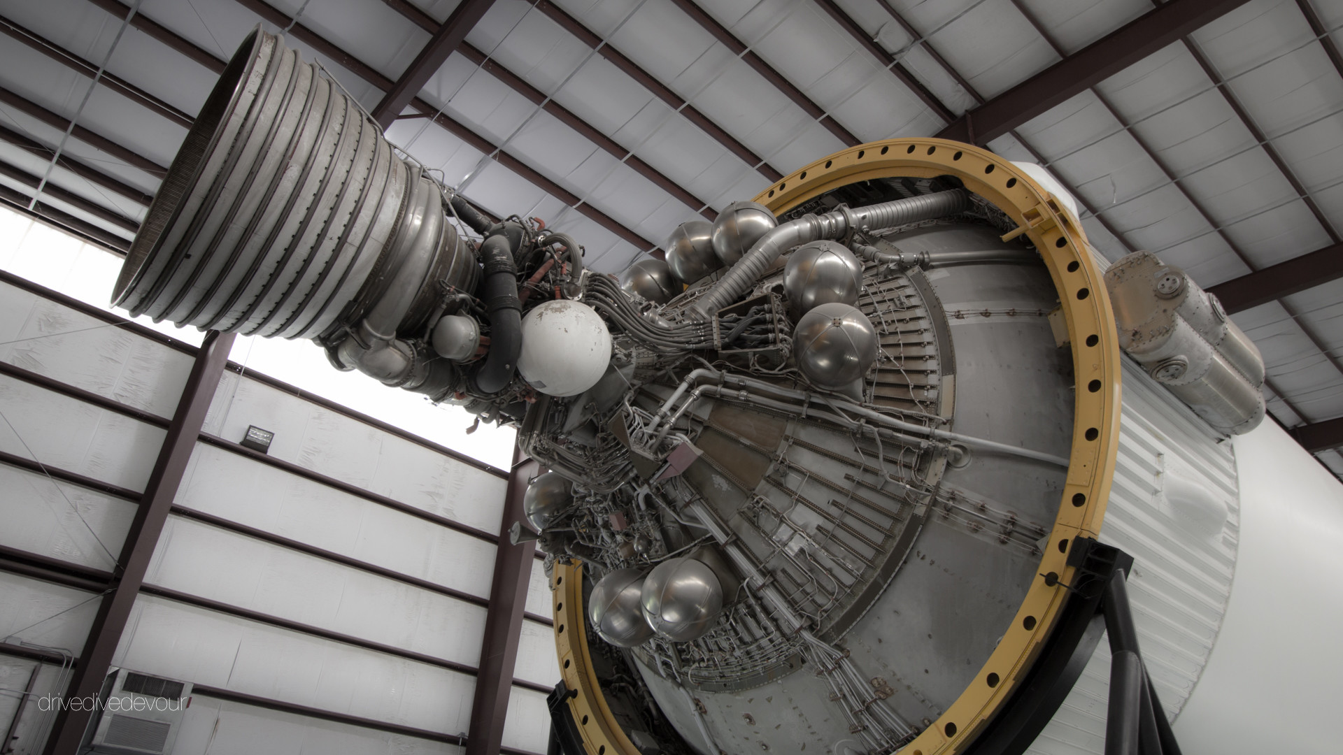 1920x1080 Saturn V engine, Johnson Space Center, Houston, TX
