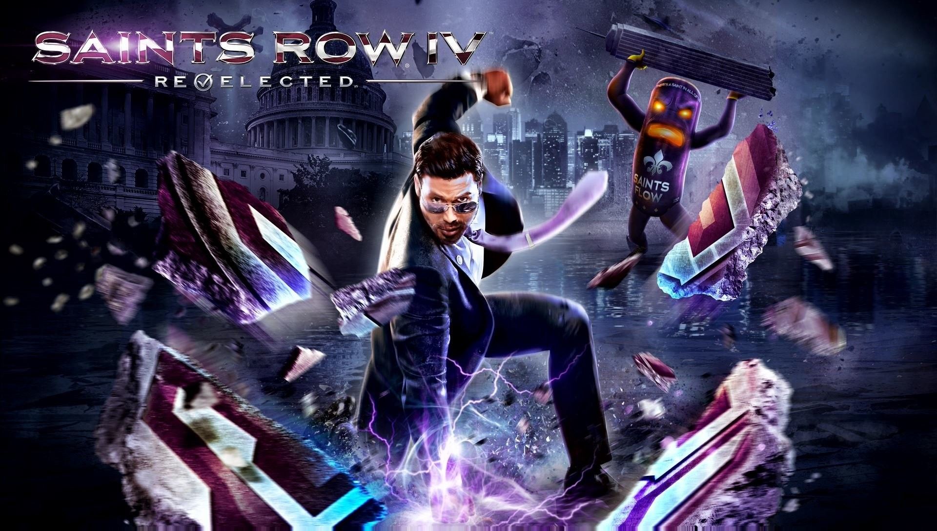 1920x1088 Video Game - Saints Row IV: Re-Elected Wallpaper