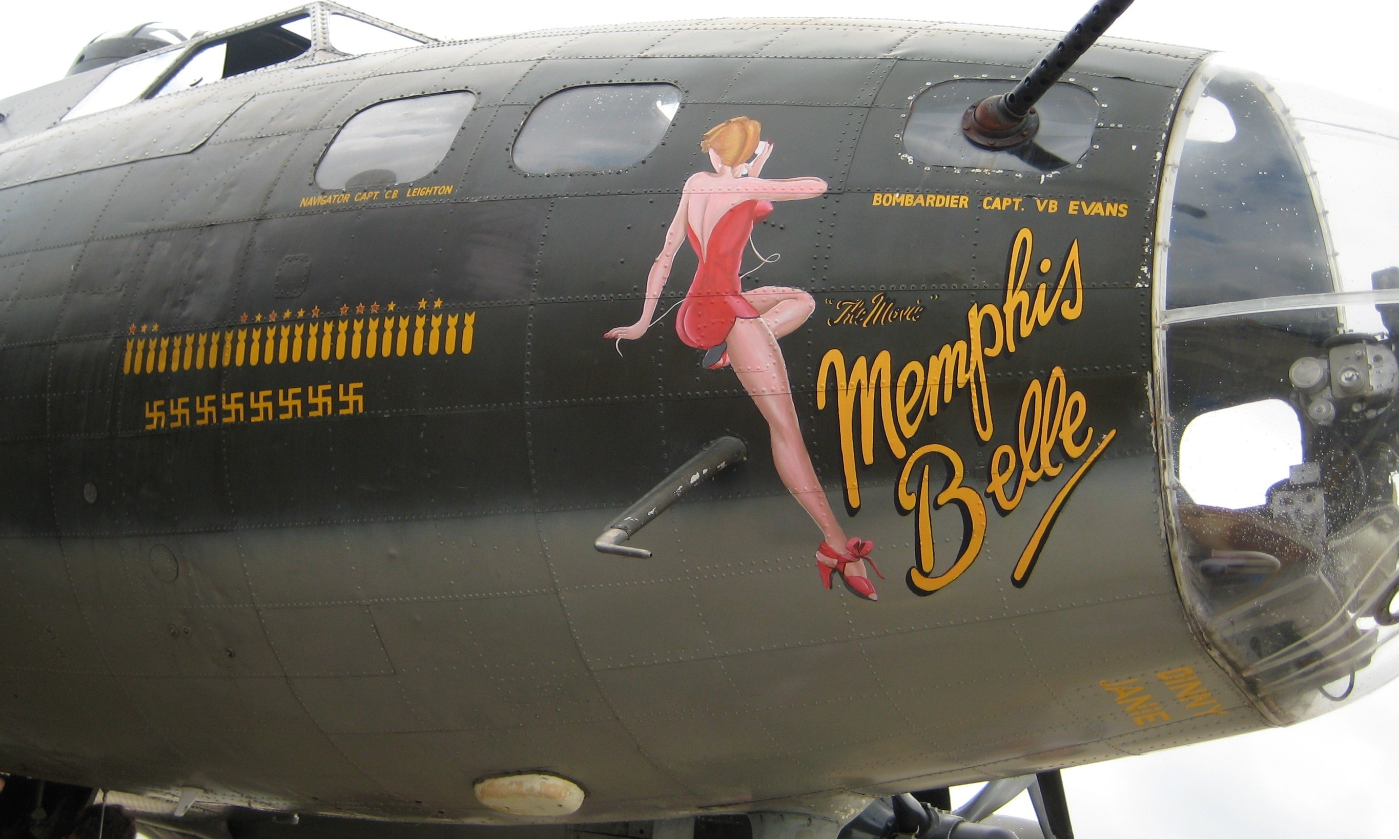 "2730x1638 Memphis Belle"" 360109 - is one of the top wallpapers in the Travel category."