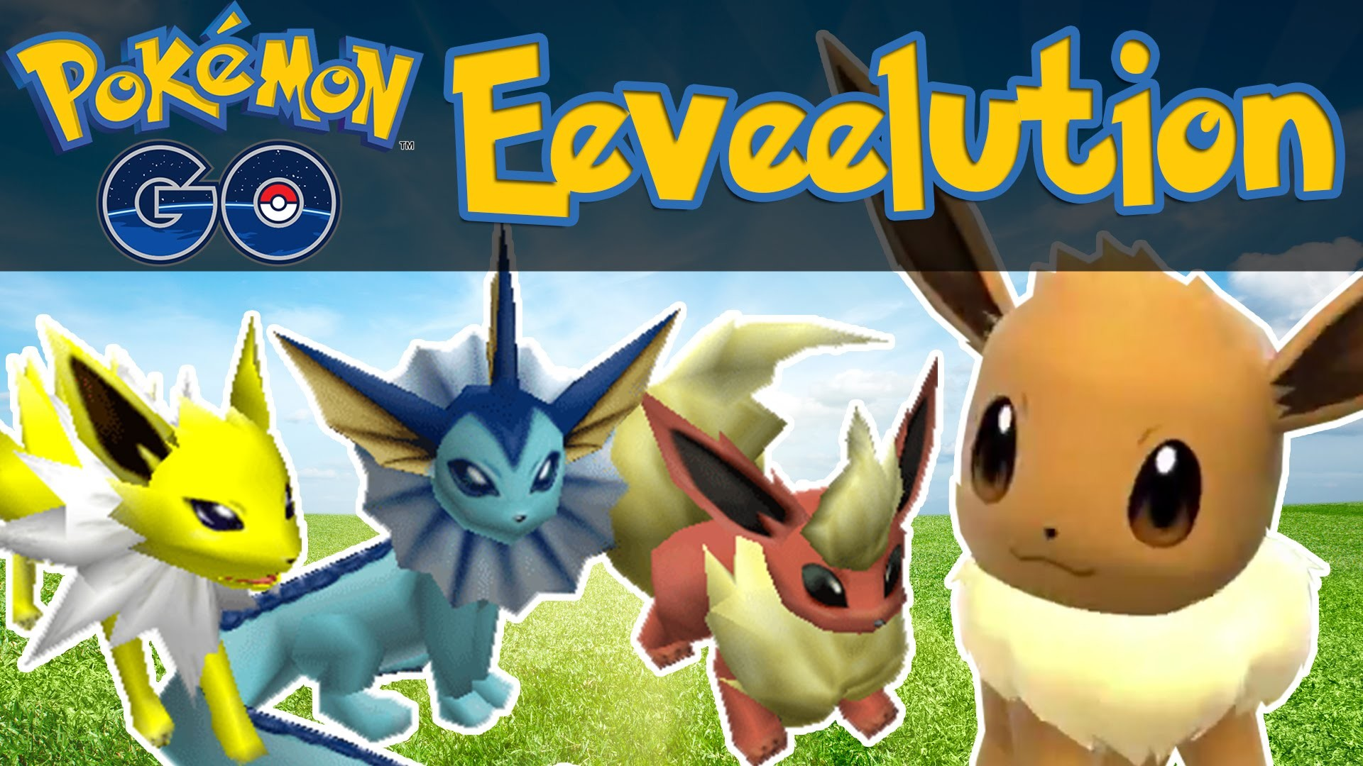 1920x1080 Pokemon GO - How To Evolve Eevee! [Pokemon GO iOS/Android Tips & Tricks] -  YouTube
