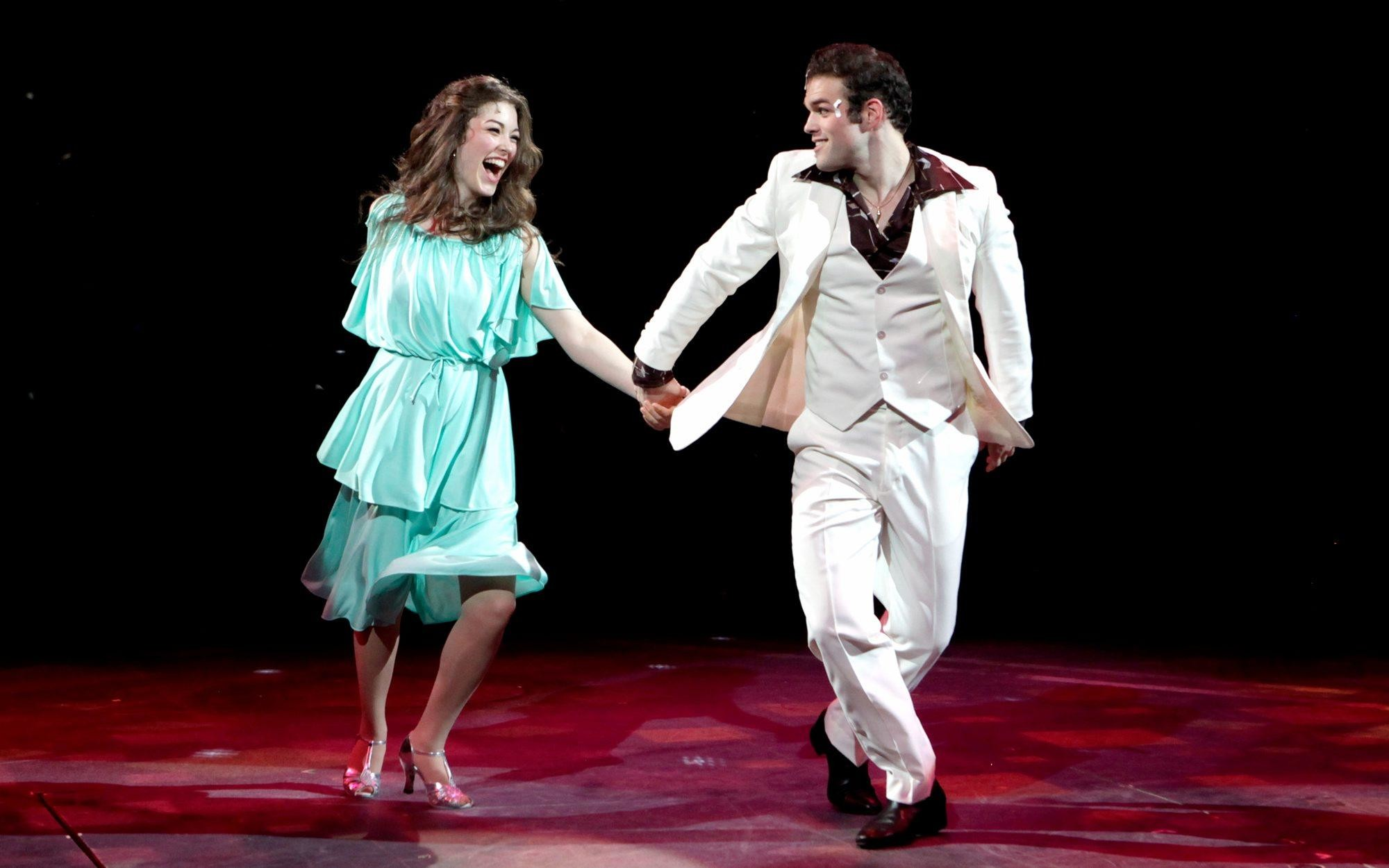 2000x1250 'Saturday Night Fever' delivers deliriously sexy dancing at NSMT - News -  Saugus Advertiser '