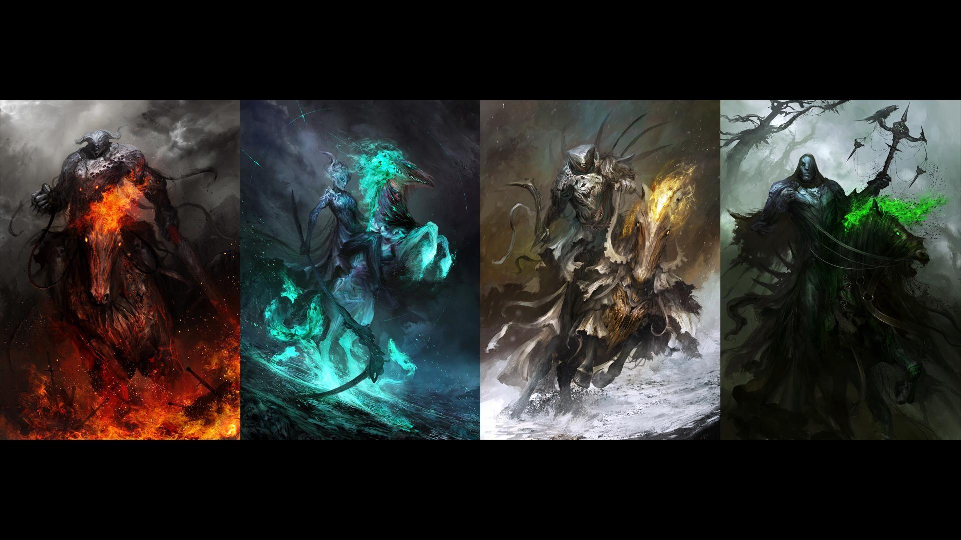 Darksiders Four Horsemen Wallpaper 85 Images