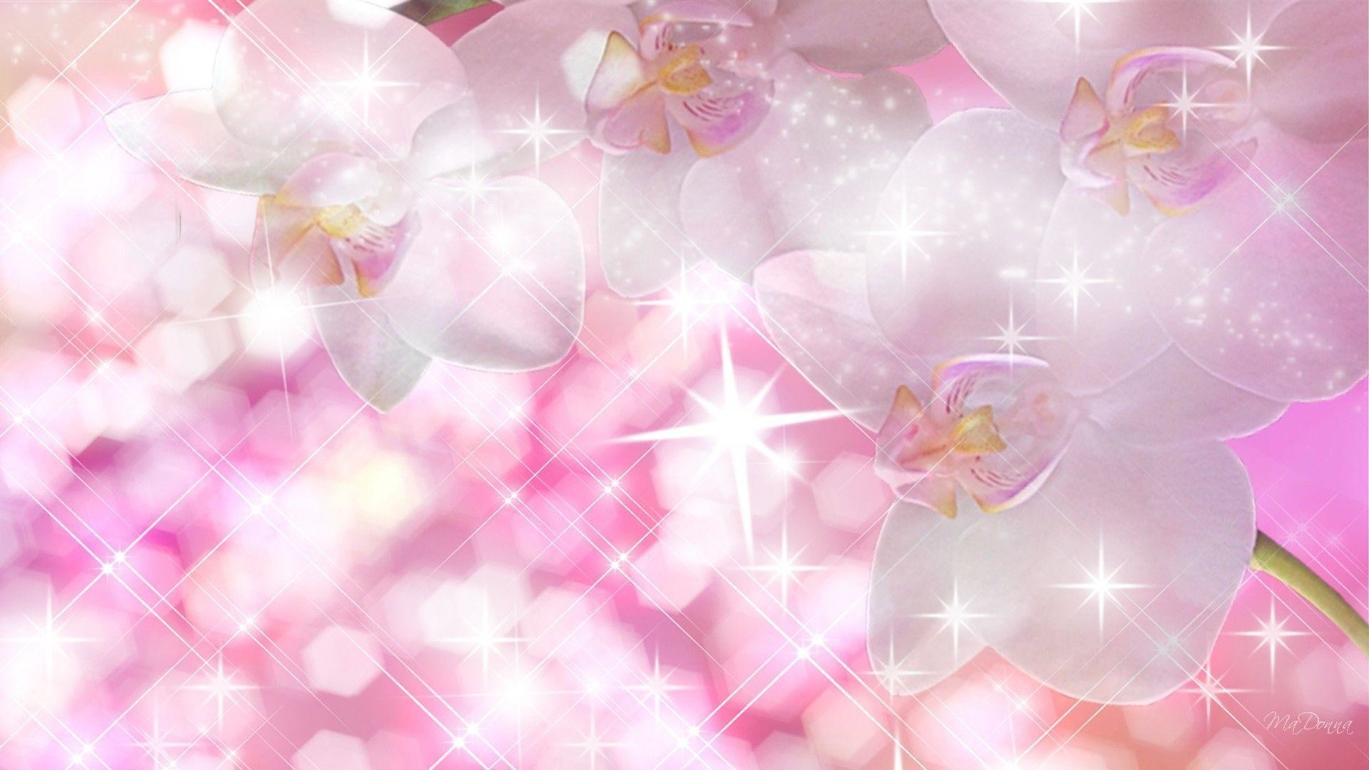 1920x1080 Wallpaper: Wallpapers For Gt Pink Sparkle Wallpaper, White Sparkle .