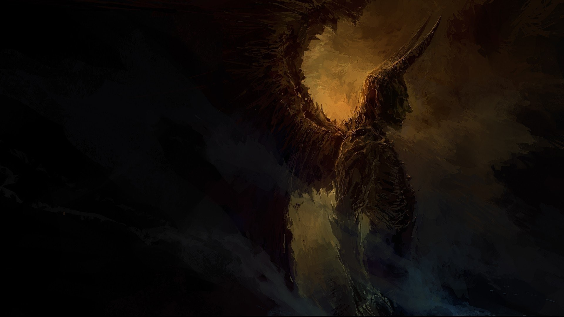 1920x1080 pin Drawn devil angel hd wallpaper #11