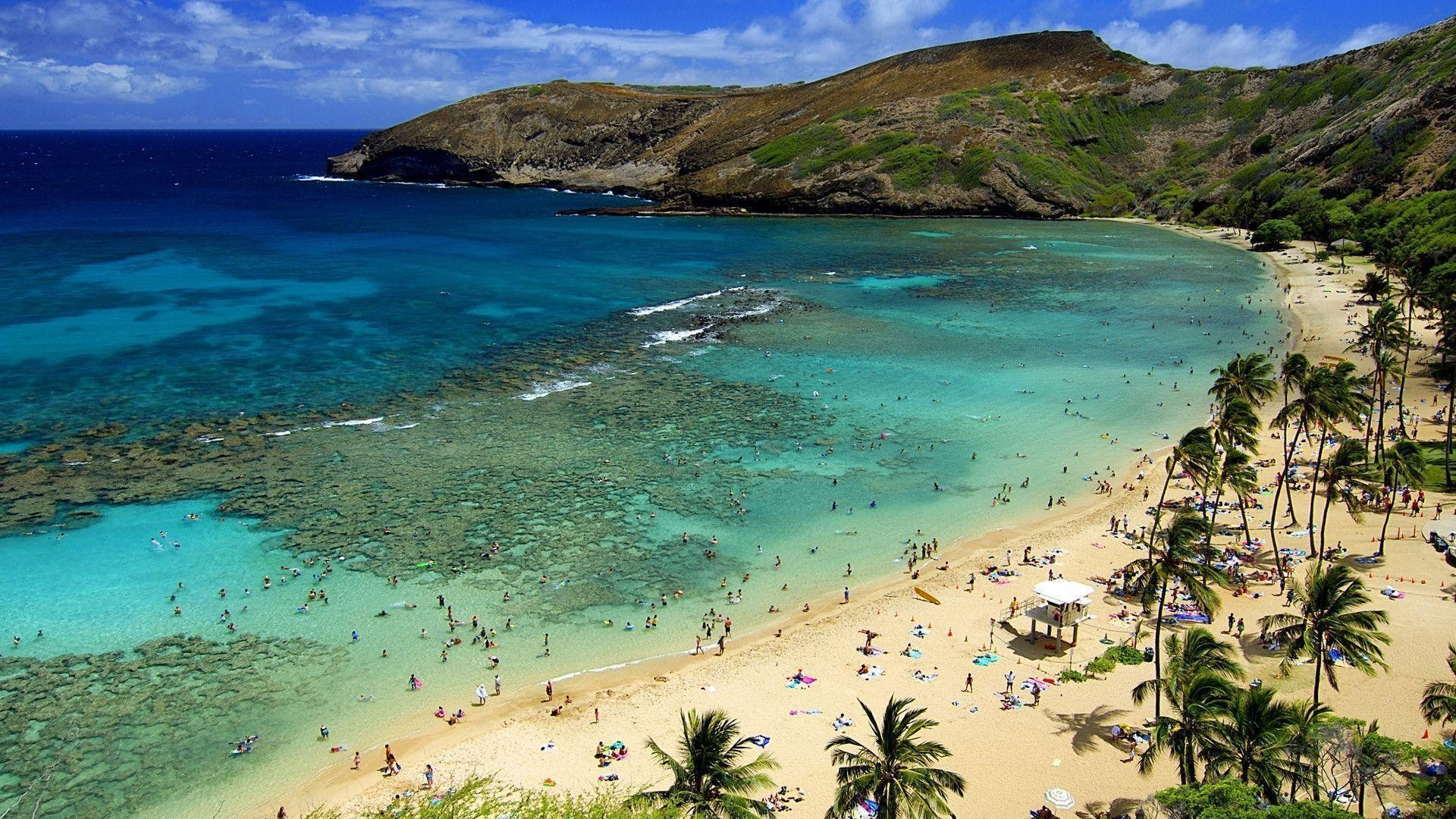 1920x1080 Afternoon Hawaii Beach Wallpaper Wide #13126 Wallpaper | Wallpaper .