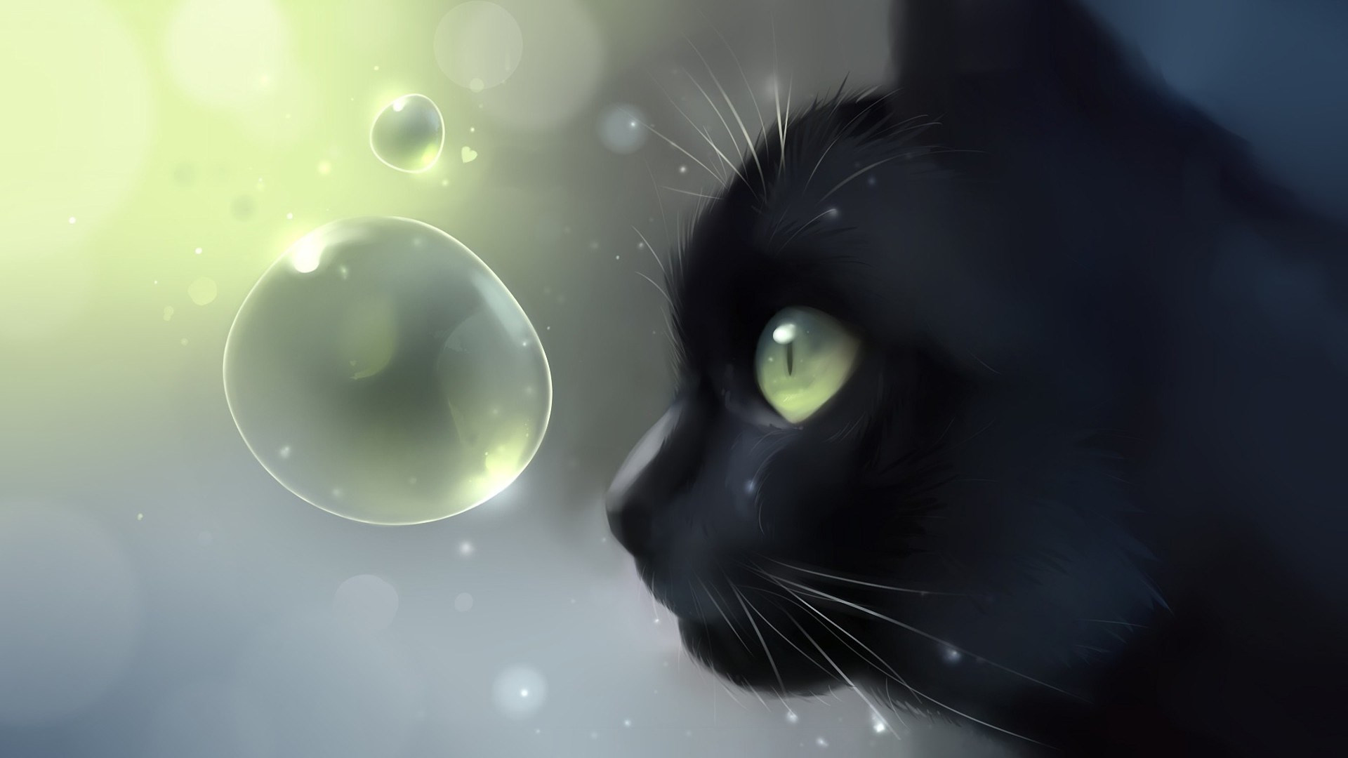 1920x1080 Likeable Drawn Black Cat Wallpaper Hd - Pencil And In Color Drawn Black Cat  together with