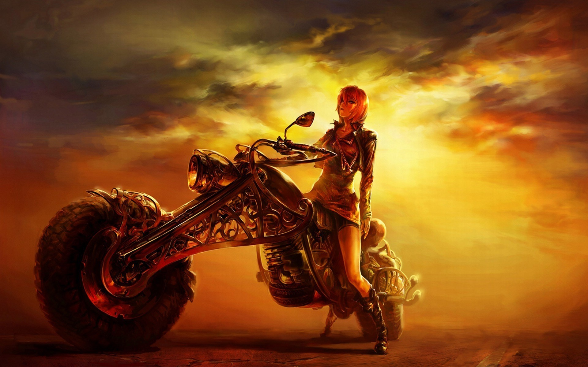 Motorcycle Girl Wallpaper  68  Images
