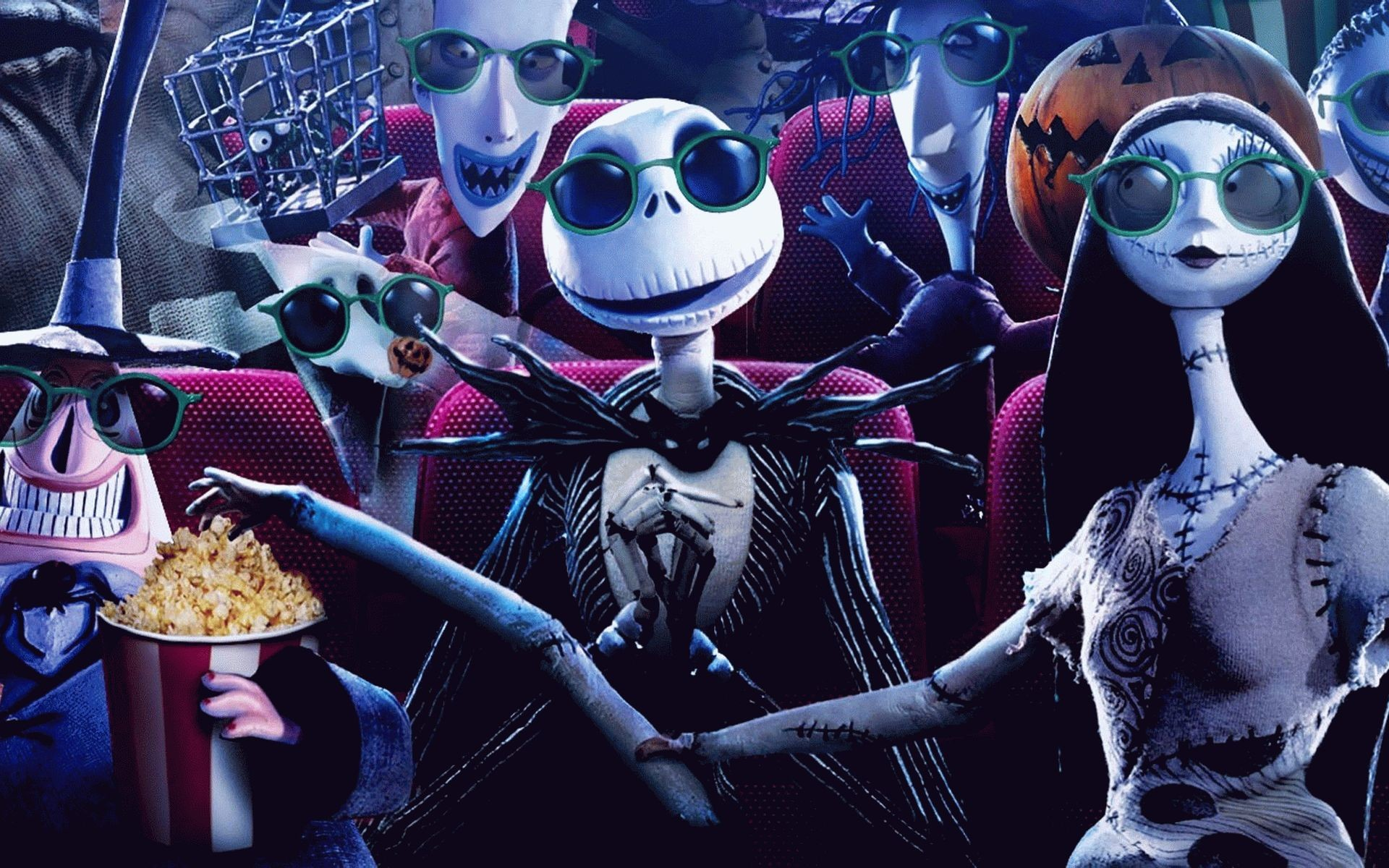 Nightmare Before Christmas Hd Wallpaper.The Nightmare Before Christmas Backgrounds 61 Images
