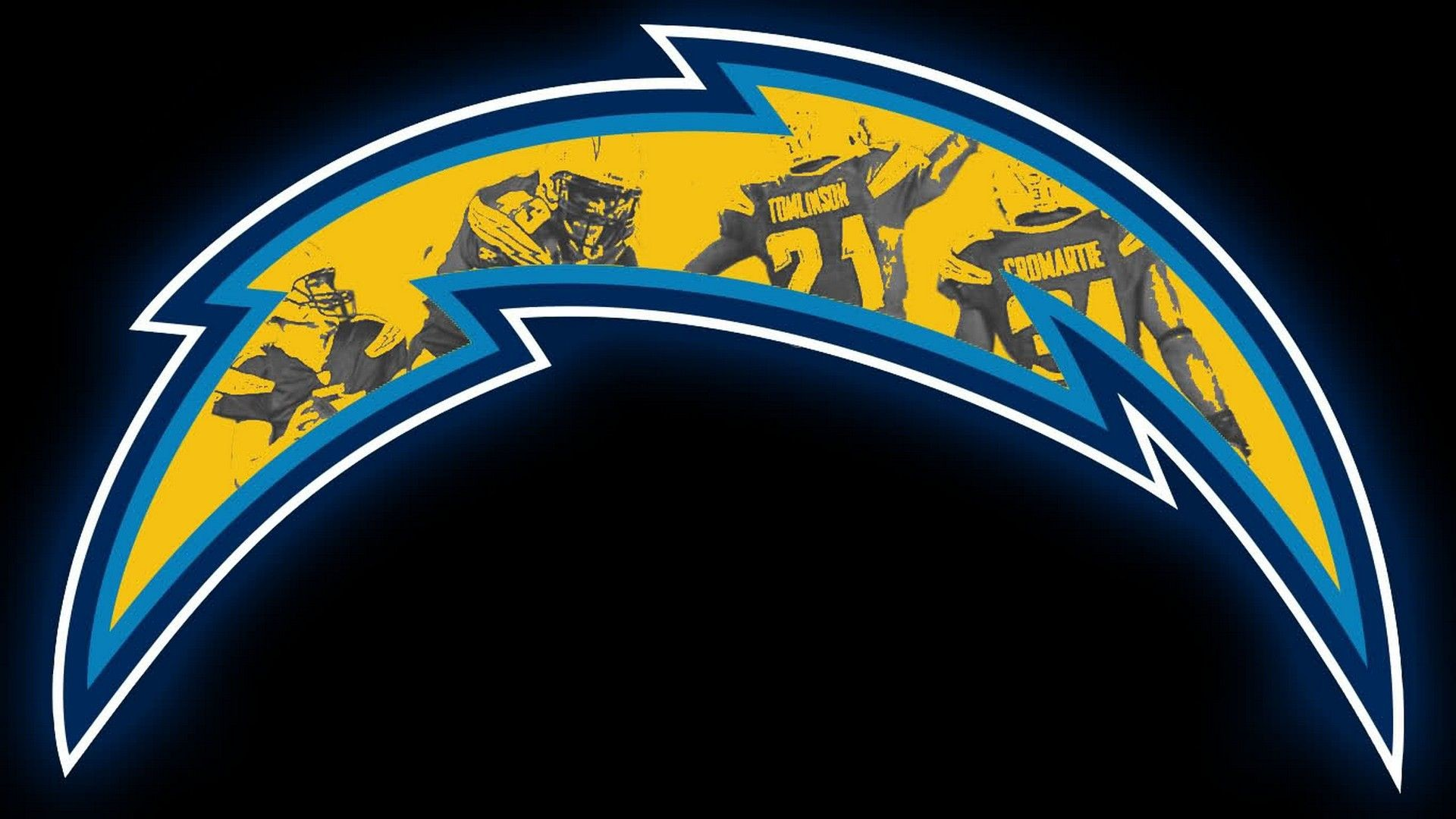 1920x1080 Los Angeles Chargers Wallpaper HD | Best NFL Wallpapers