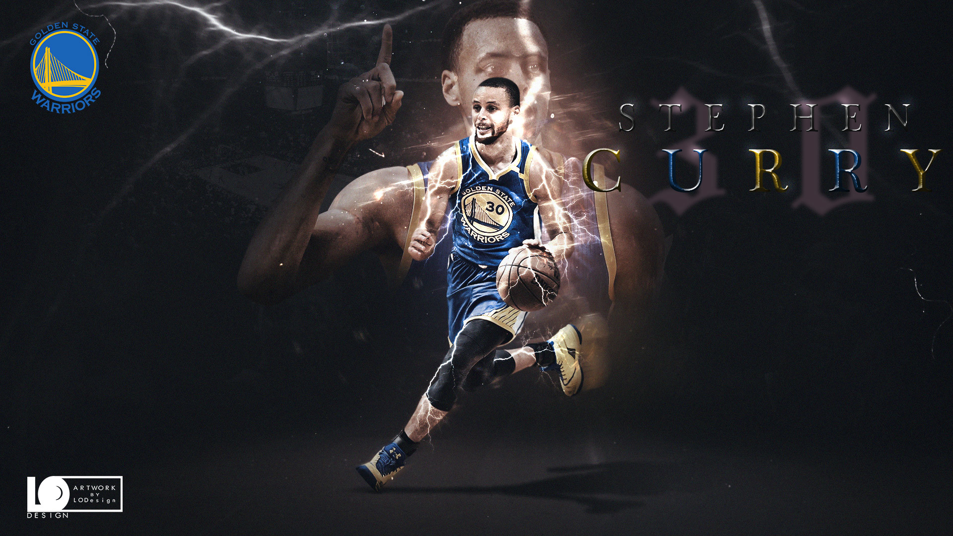 1920x1080 Stephen Curry 2017 Playoffs  Wallpaper