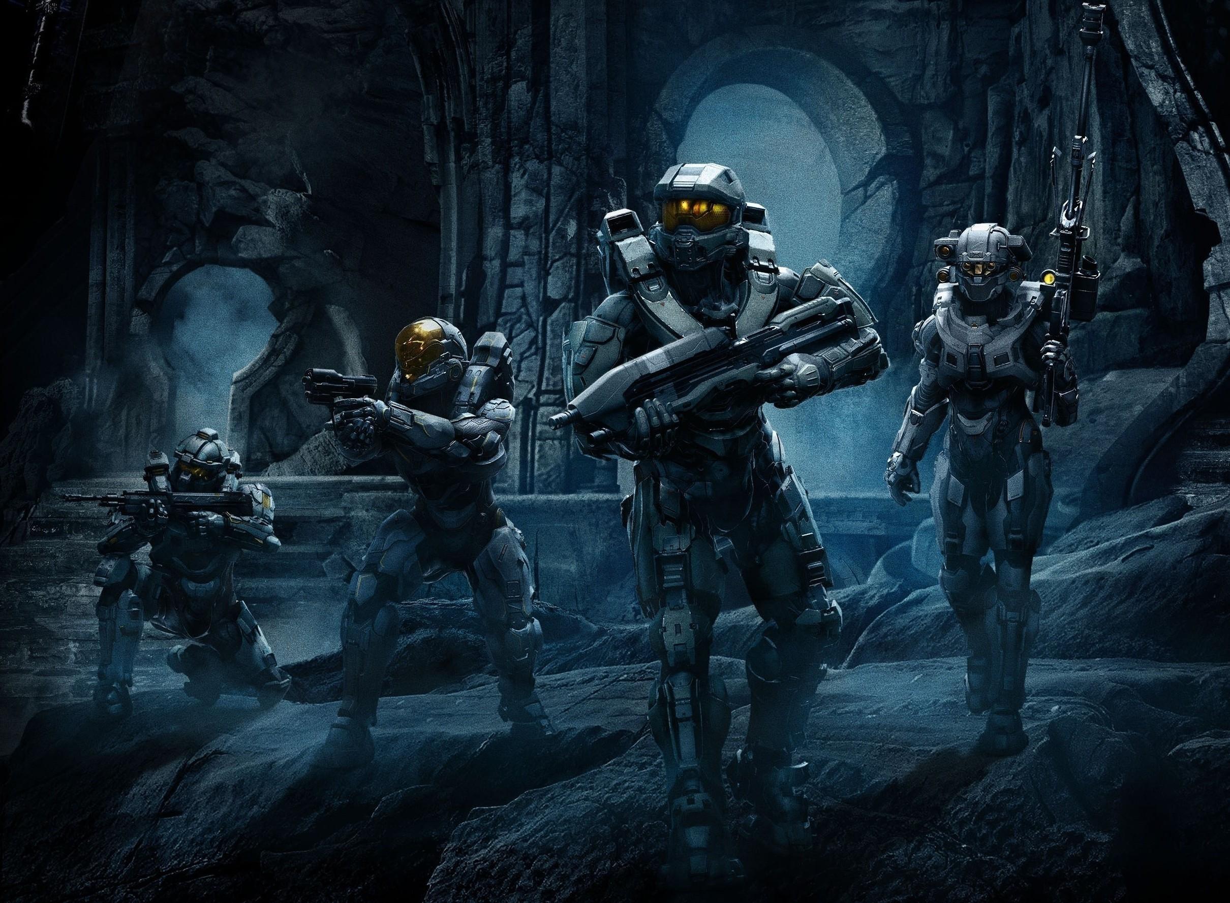 Halo 5 Blue Team Wallpaper 76 Images
