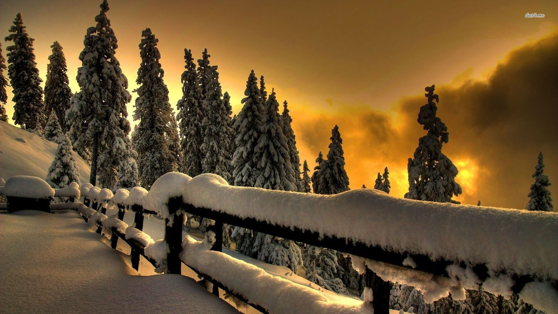 1920x1080 Winter Sunset Desktop Backgrounds Winter sunset .