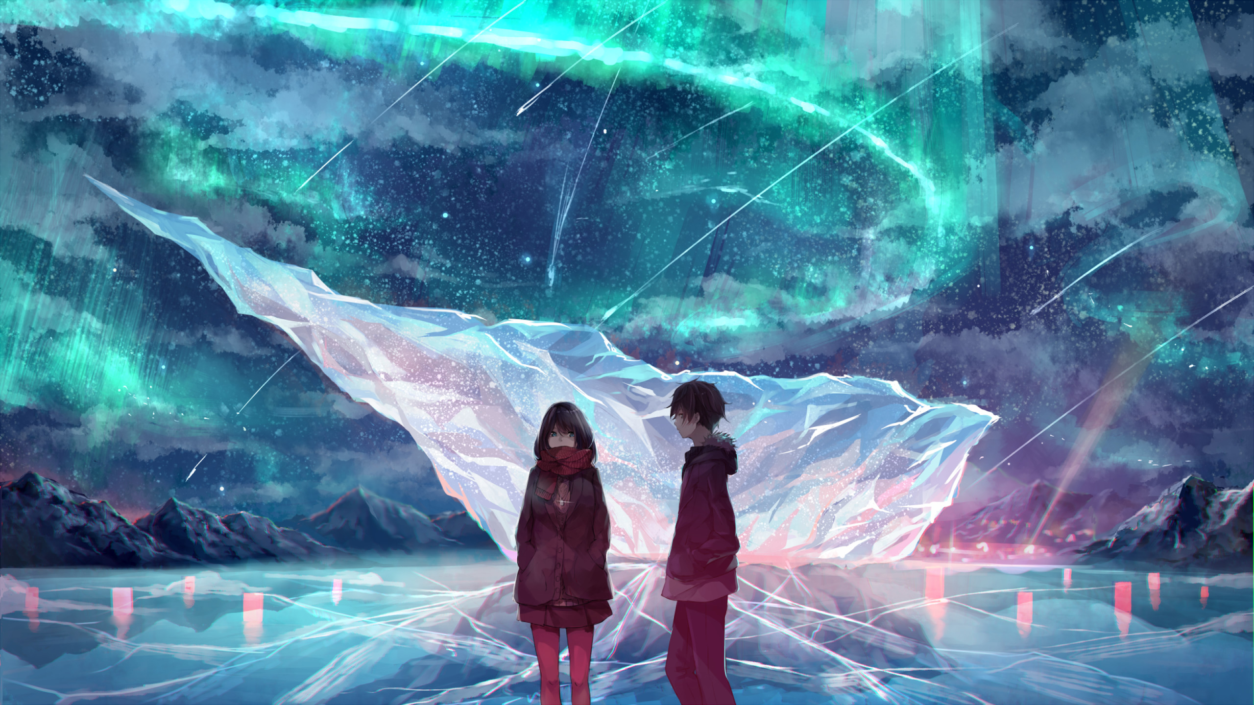 Anime couple wallpaper 74 images - Anime full hd download ...