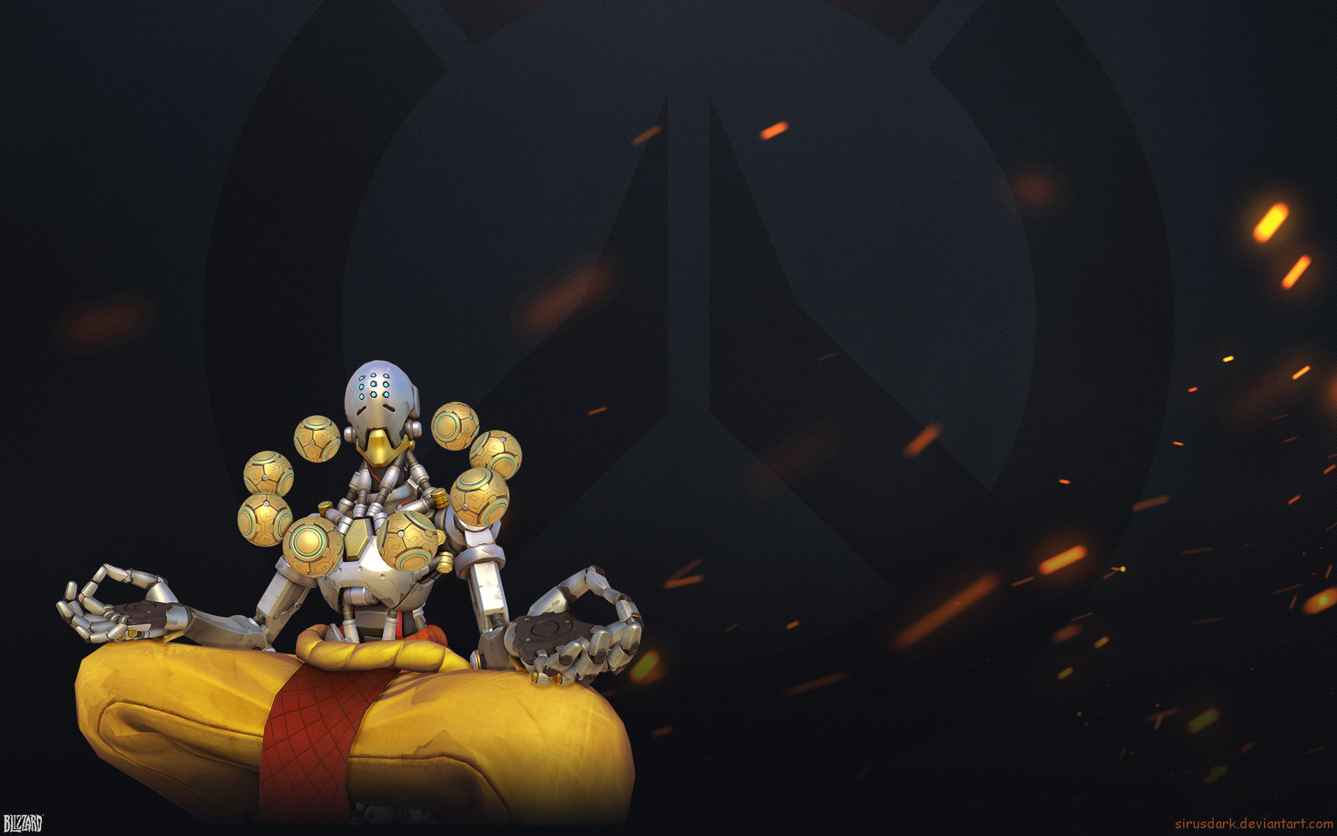 1920x1200 Video Game - Overwatch Zenyatta (Overwatch) Wallpaper