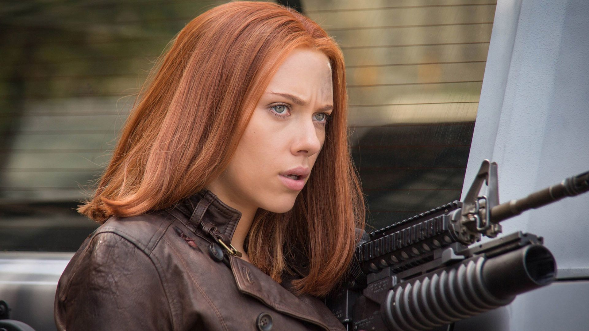 1920x1080 Black Widow - Captain America: The Winter Soldier HD Wallpaper