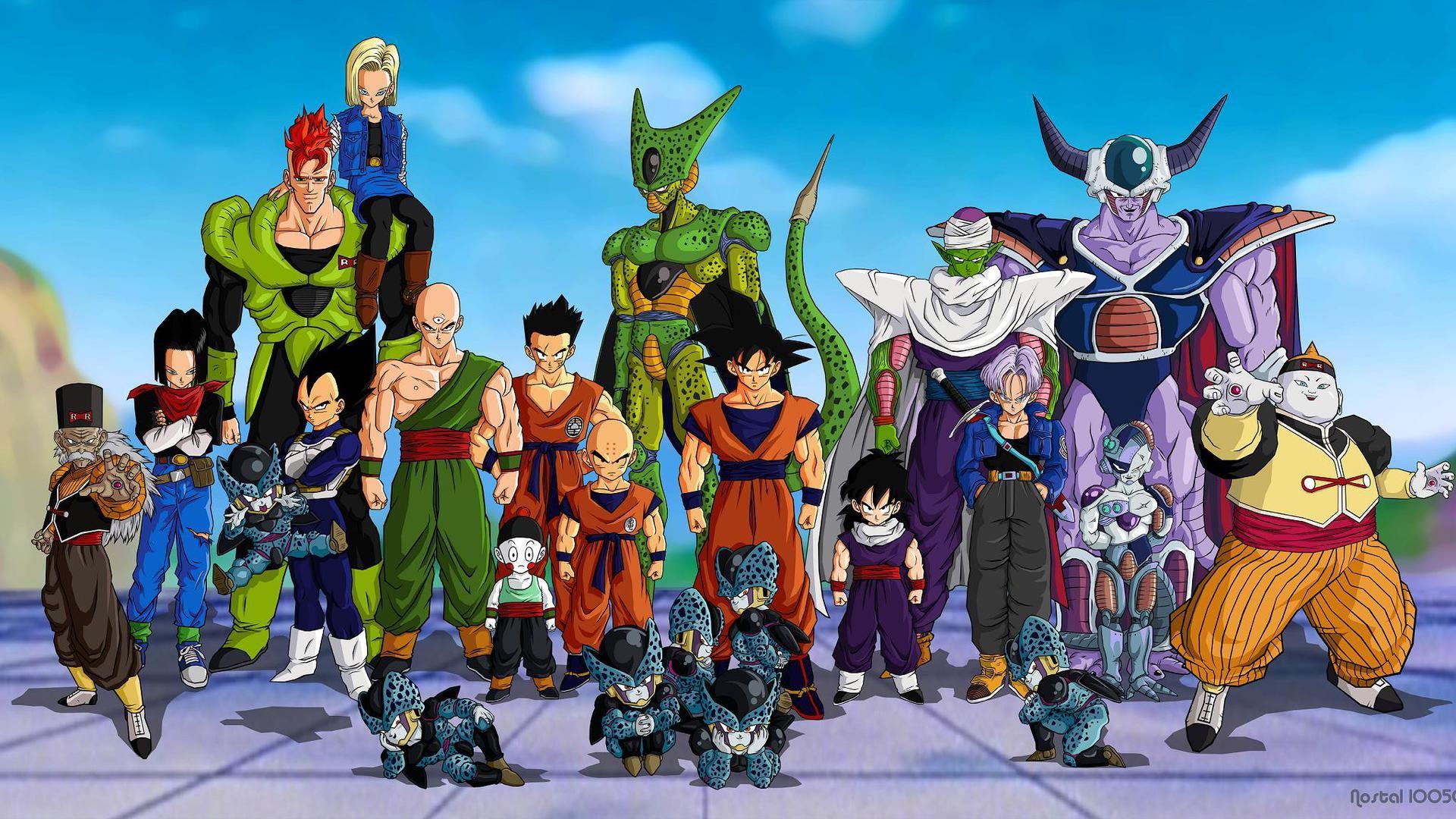 Dragon Ball Z - 90s Cartoons
