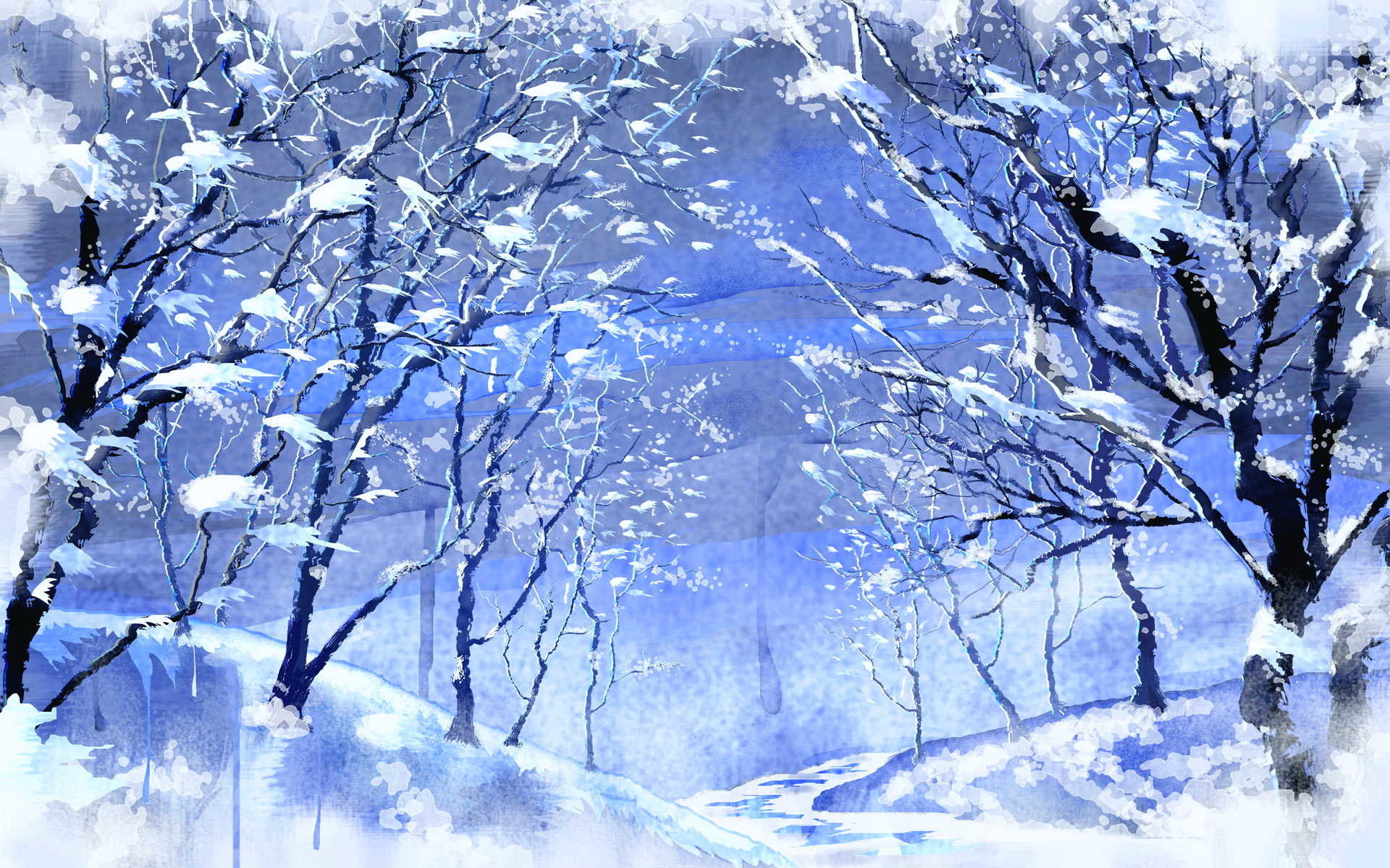 1920x1200 Wide Screen Wallpaper Ice