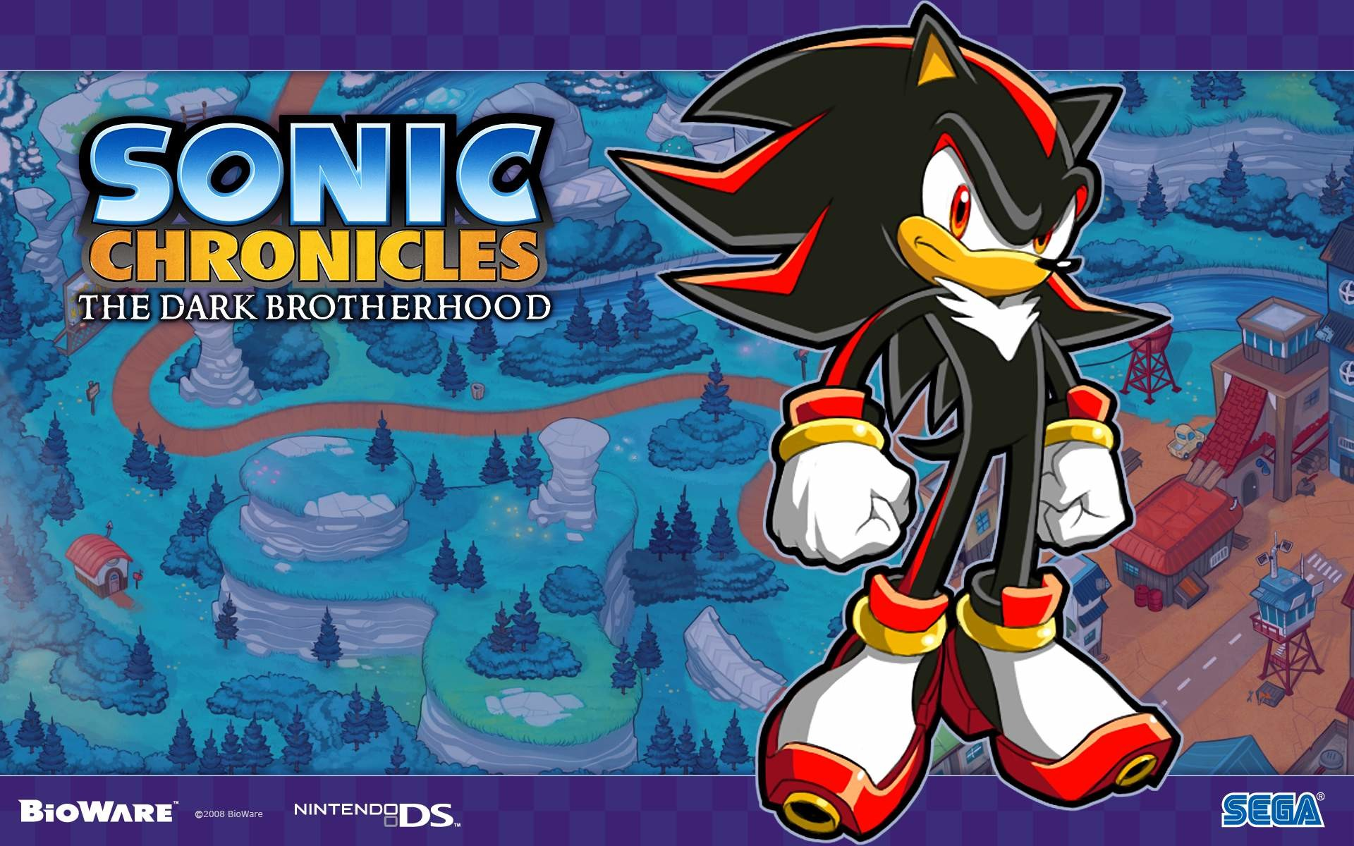 1920x1200 Sonic Chronicles - Shadow The Hedgehog