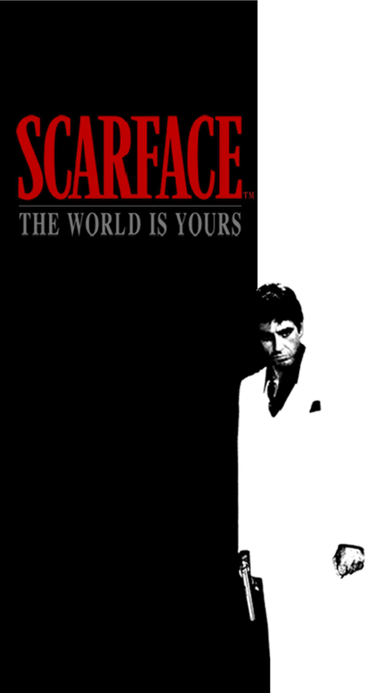 The world is yours wallpaper 72 images - Scarface background ...