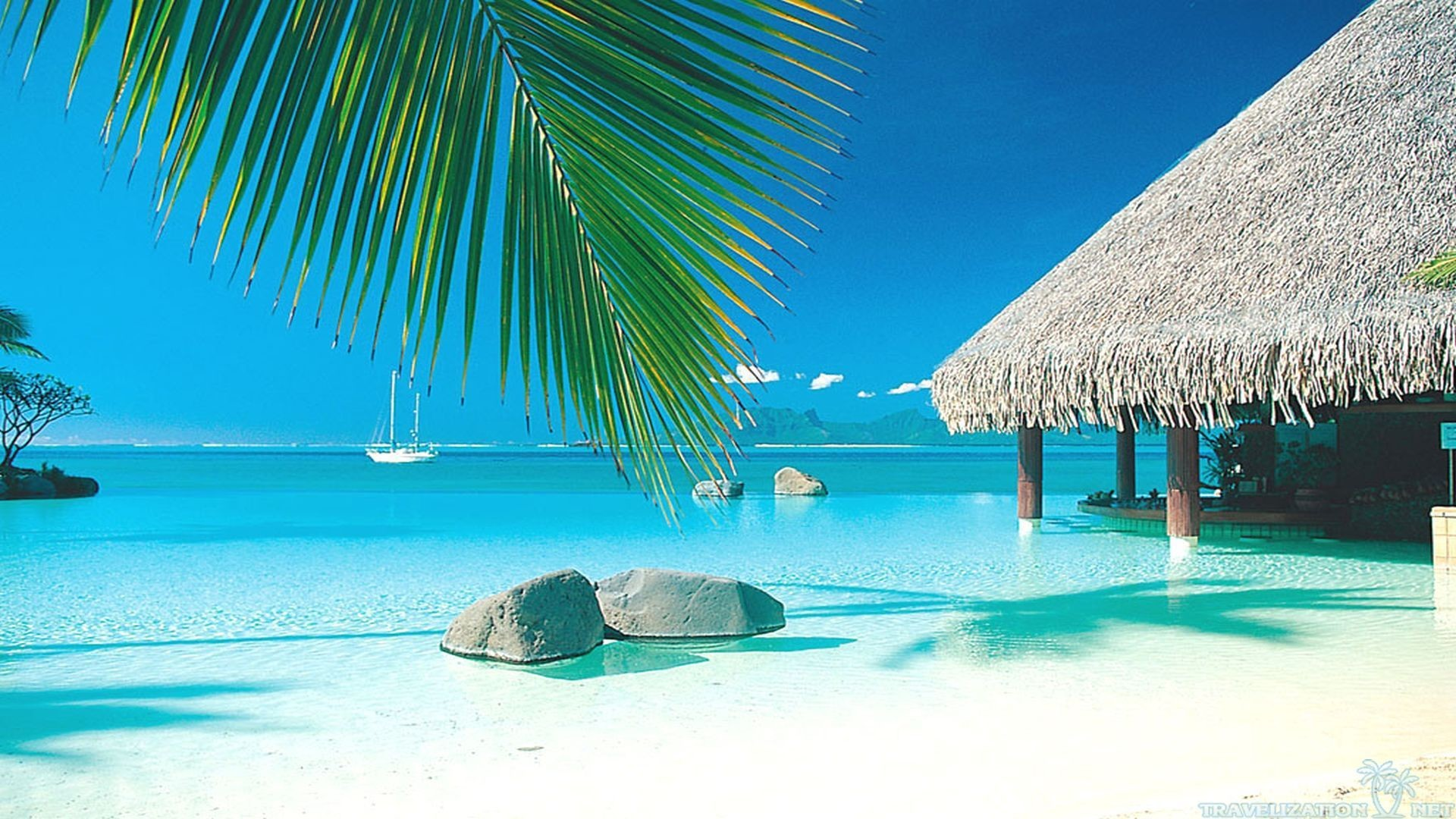 10 Best Tropical Beach Desktop Backgrounds Full Hd 1920: Tropical Beach Screensavers And Wallpaper (67+ Images