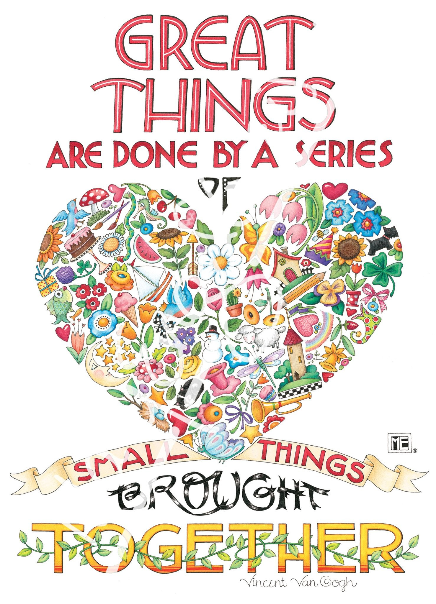 3840x2160 mary engelbreit quote the only thing i know for sure about the creative process - Mary Engelbreit Coloring Book