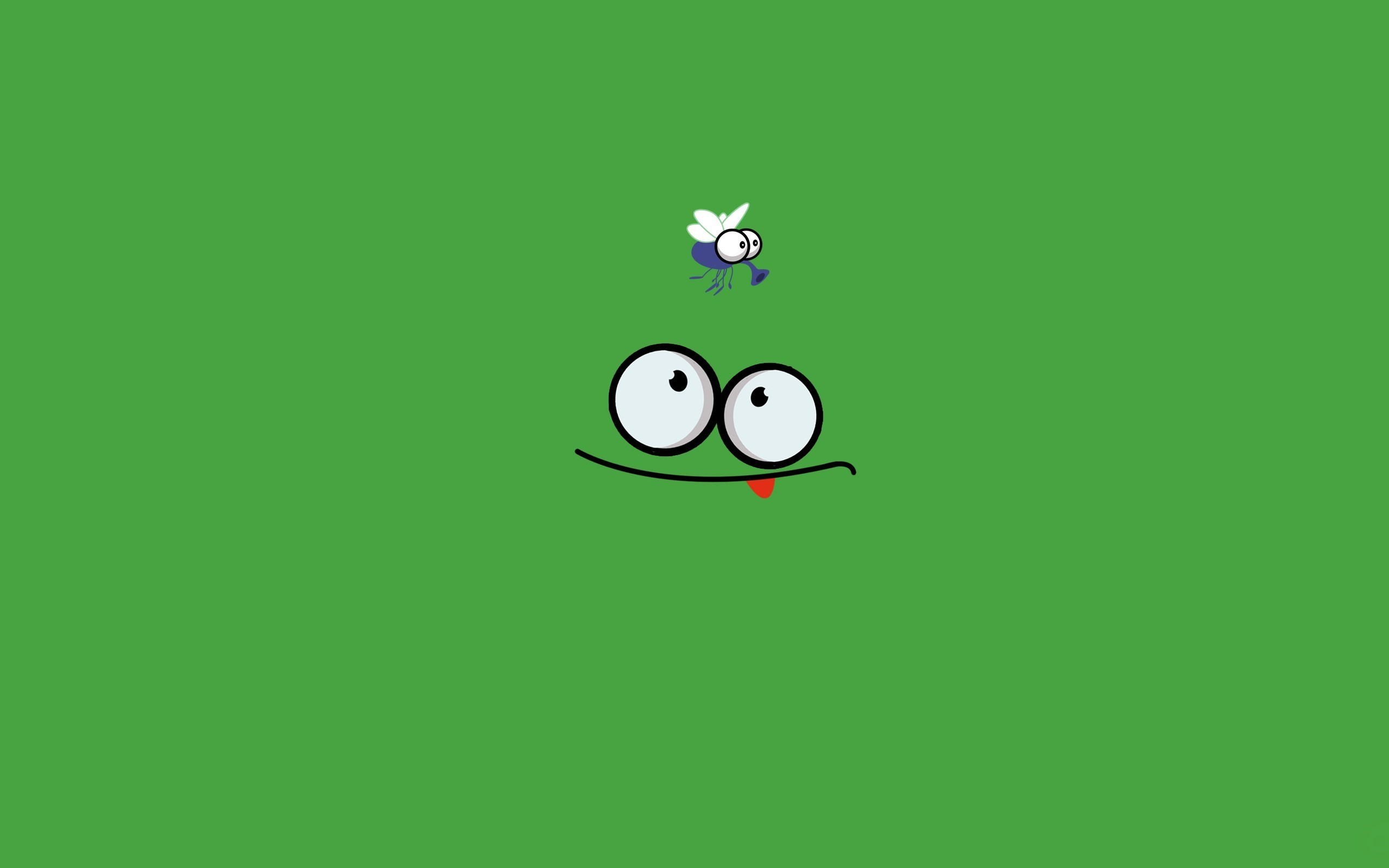 2560x1600 Frog Insect Funny Art HD Wallpaper ZoomWalls
