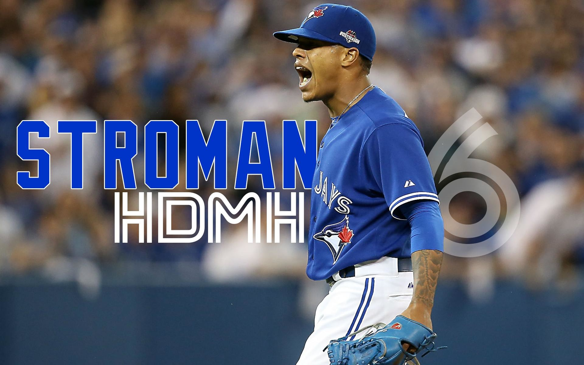 1920x1200 Marcus Stroman HDMH Blue Jays Wallpaper