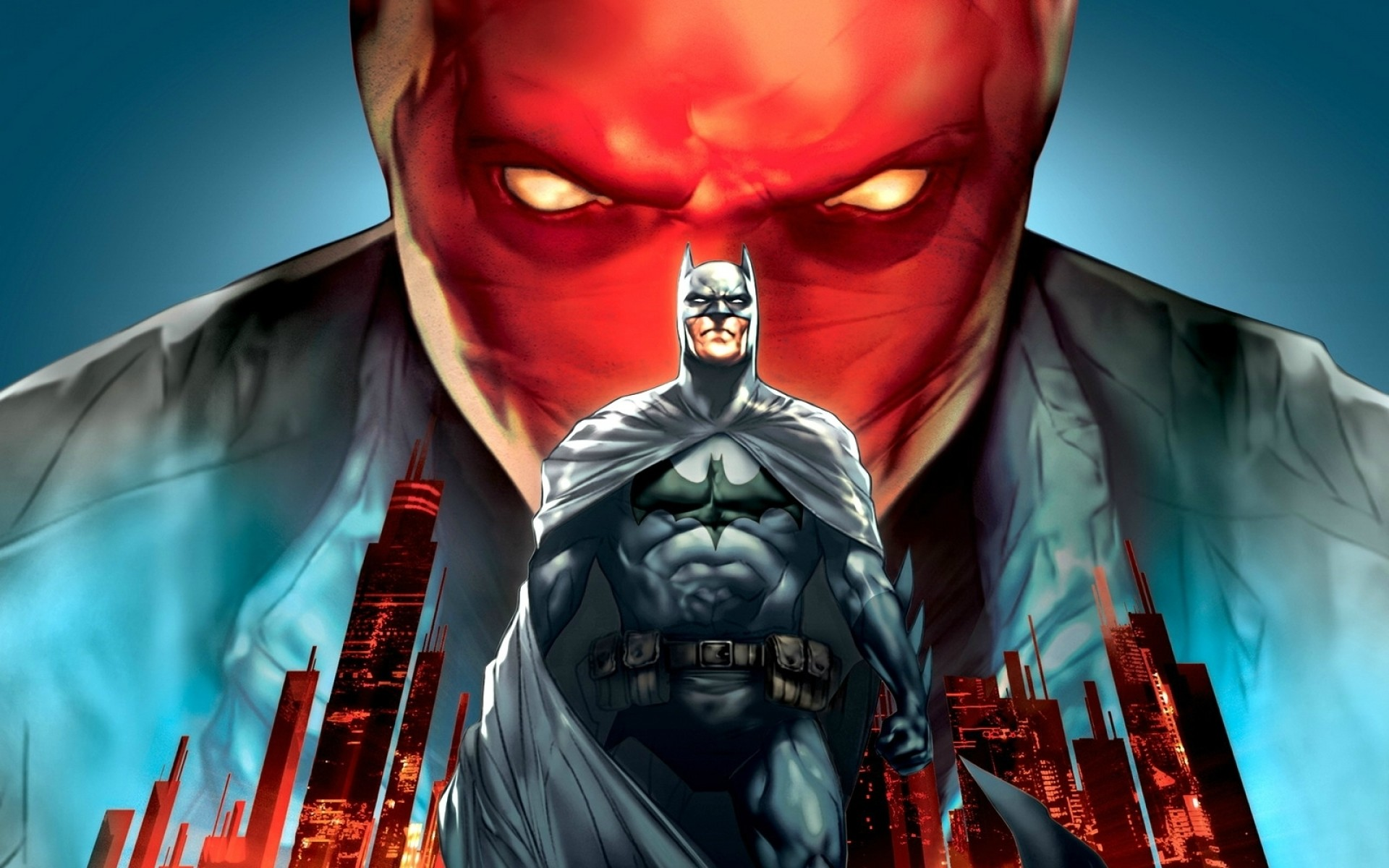 1920x1200 Batman DC Comics Superheroes Bruce Wayne Jason Todd Red Hood