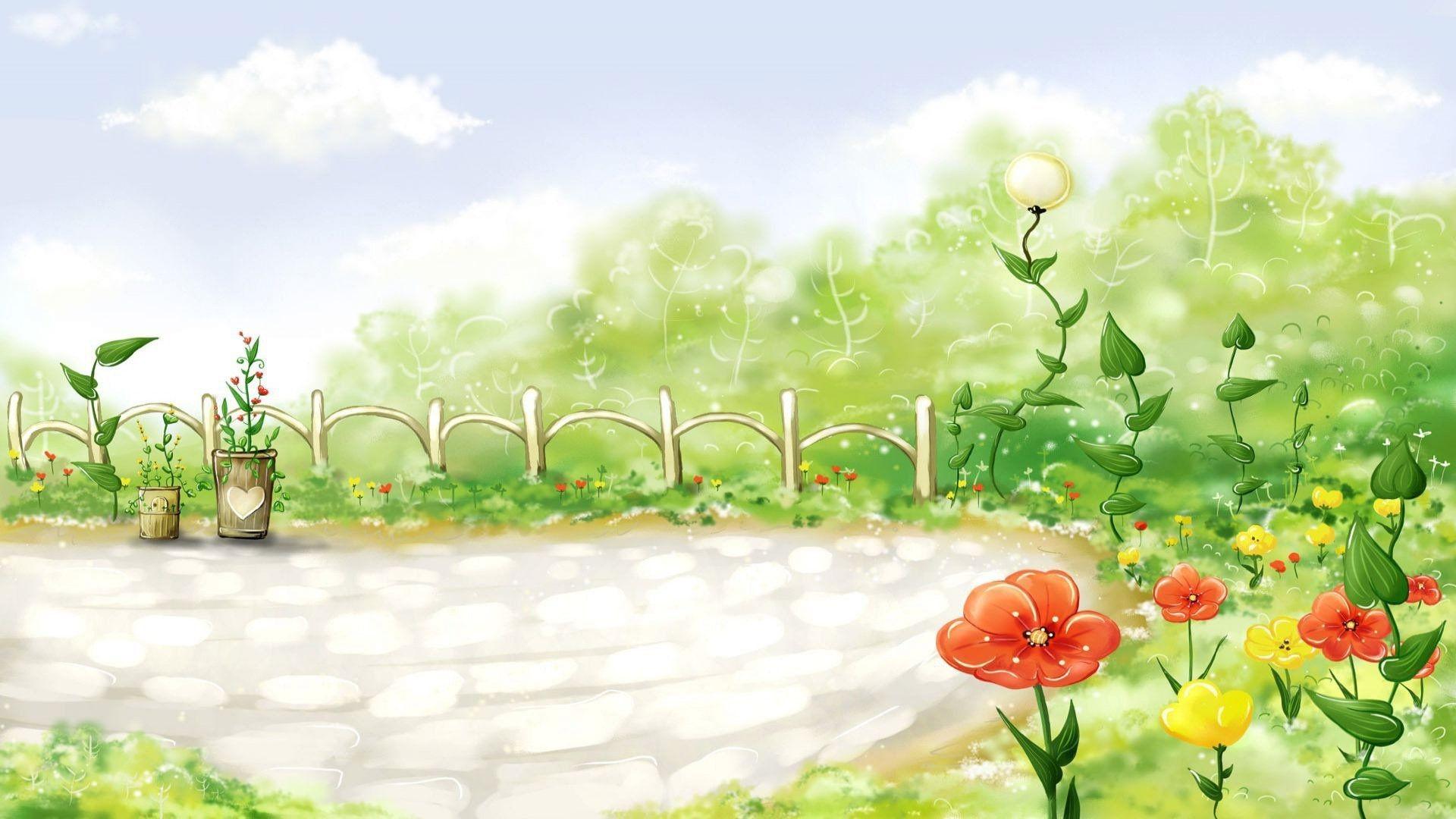 Cartoon Spring Wallpaper (57+ images)