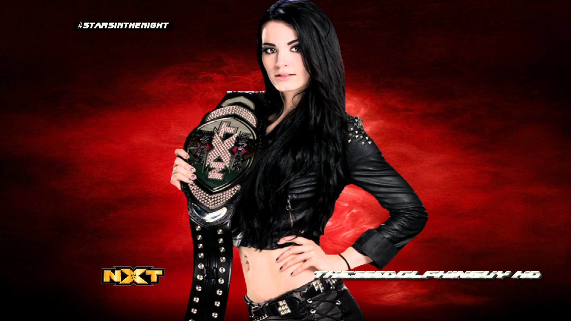 1920x1080 #WWE: Paige 2nd Theme - Stars in the Night (HQ + Arena Effects) - YouTube