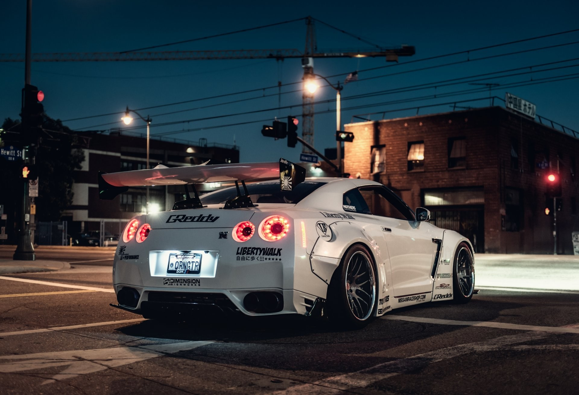 1920x1311 Liberty Walk Nissan GT-R Wallpaper