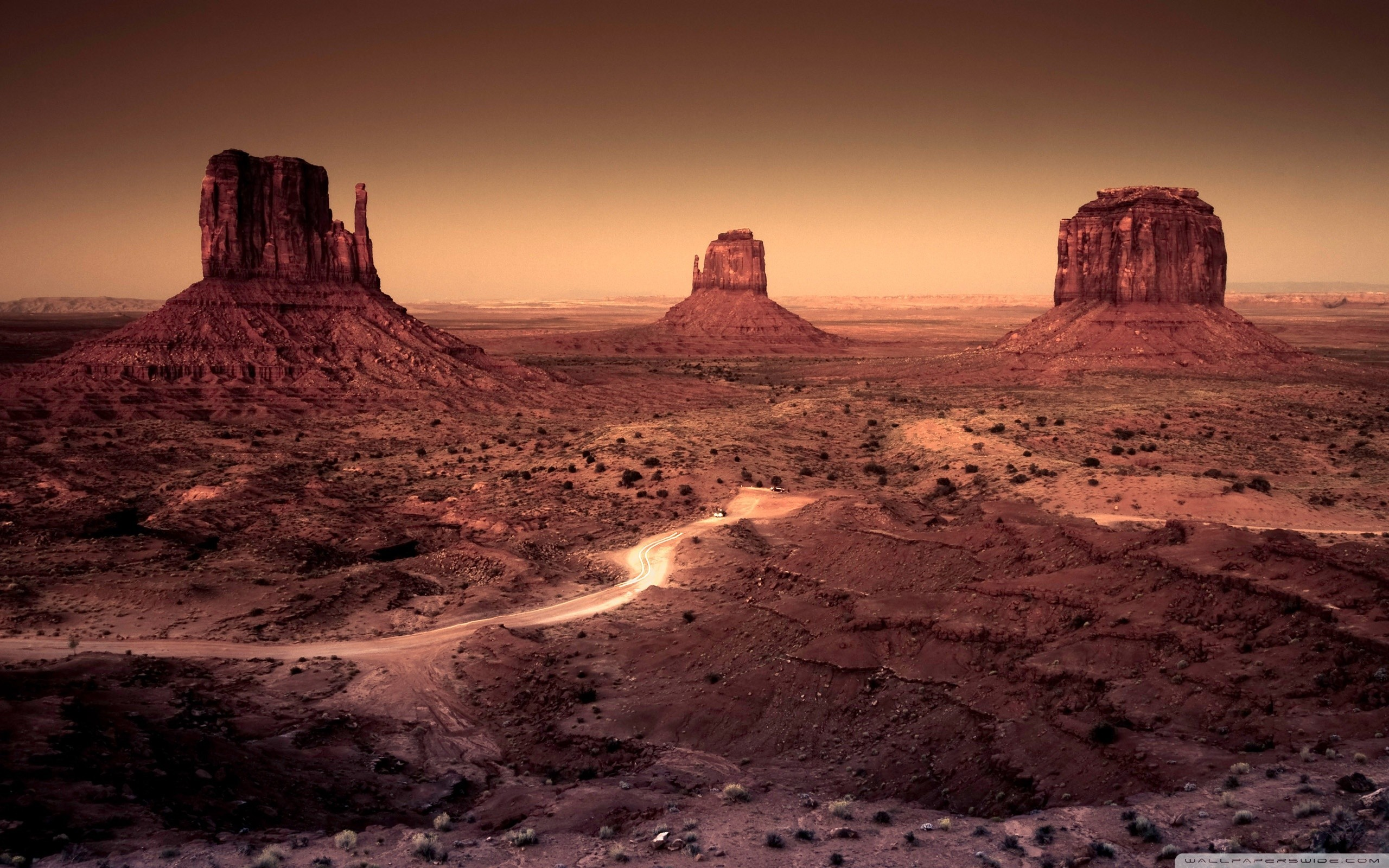 2560x1600 desert arizona monument valley rock formations wallpaper background .