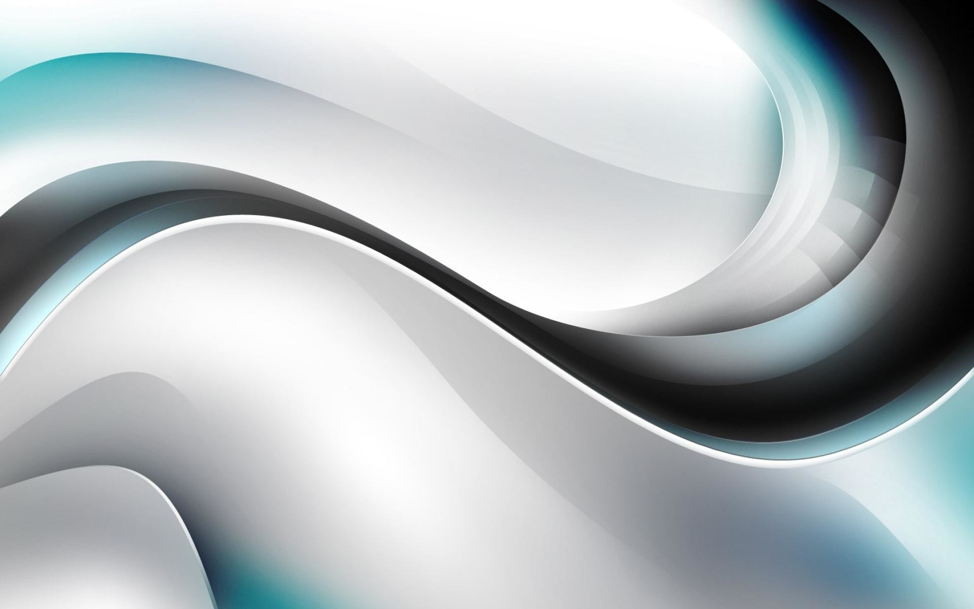 1920x1200 Abstract-white-silver-cool-black-line-HD-Wallpaper