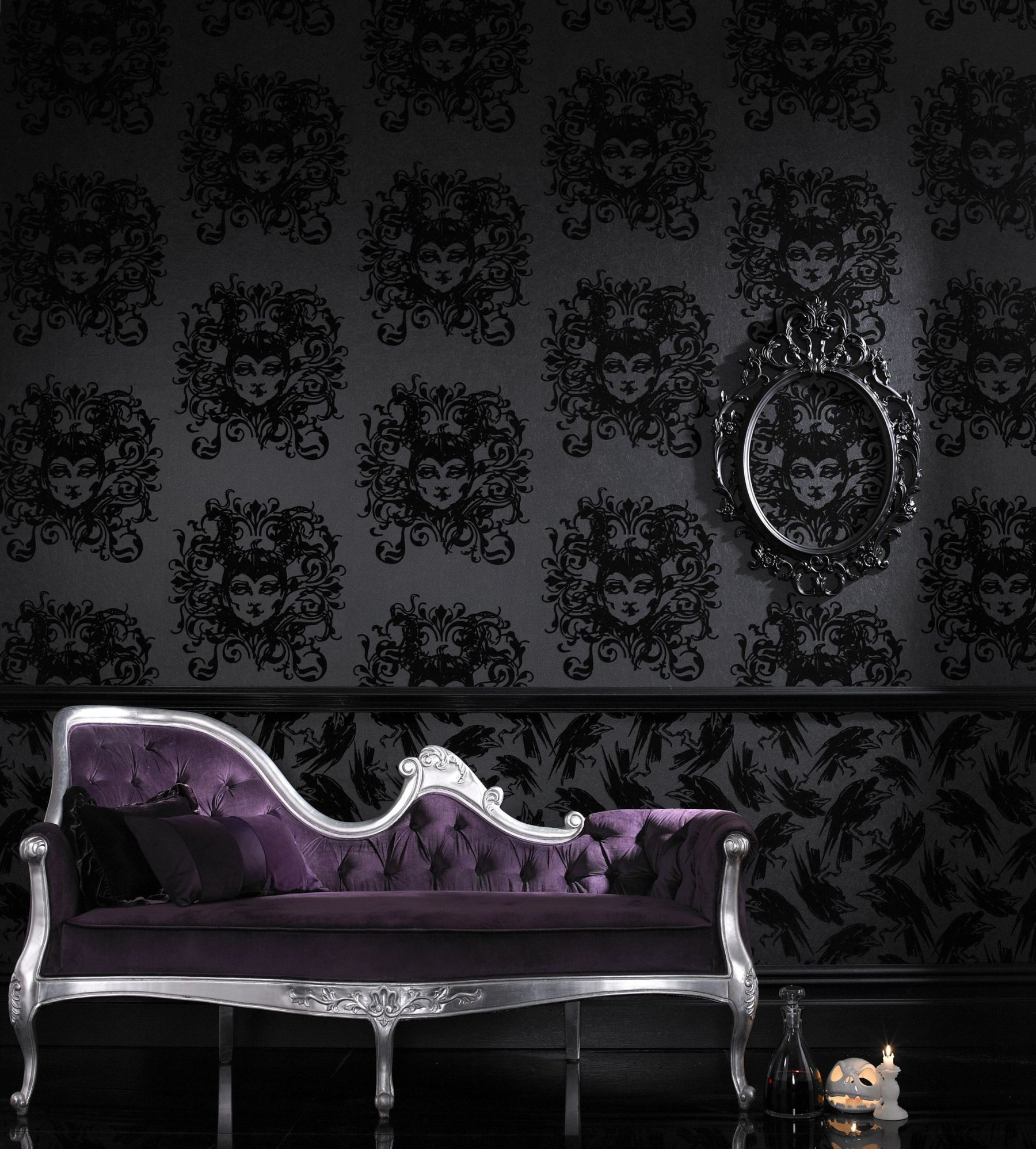 1800x1996 Astonishing Gothic Wallpaper For Walls 96 About Remodel Home Decor Ideas  With Gothic Wallpaper For Walls
