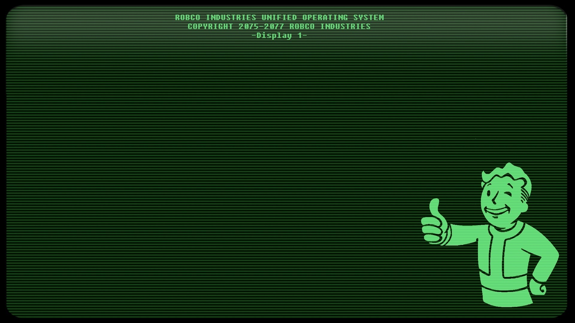 1920x1080 Fallout 3, Video Games, Pip Boy, Lines Wallpapers HD / Desktop and Mobile  Backgrounds