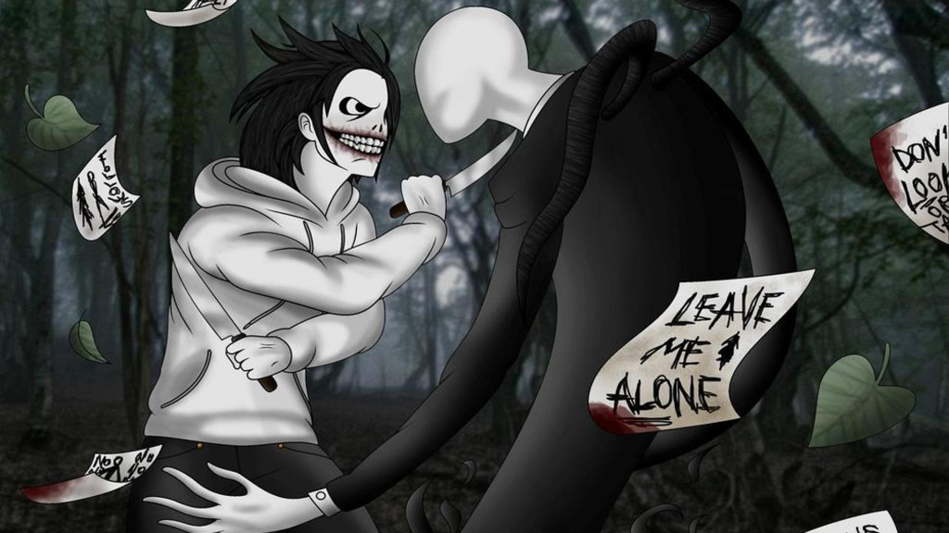1920x1080 Read Jeff the killer vs Slenderman from the story Creepy history by (🍙Suki  カディス🍮) with 1 reads.